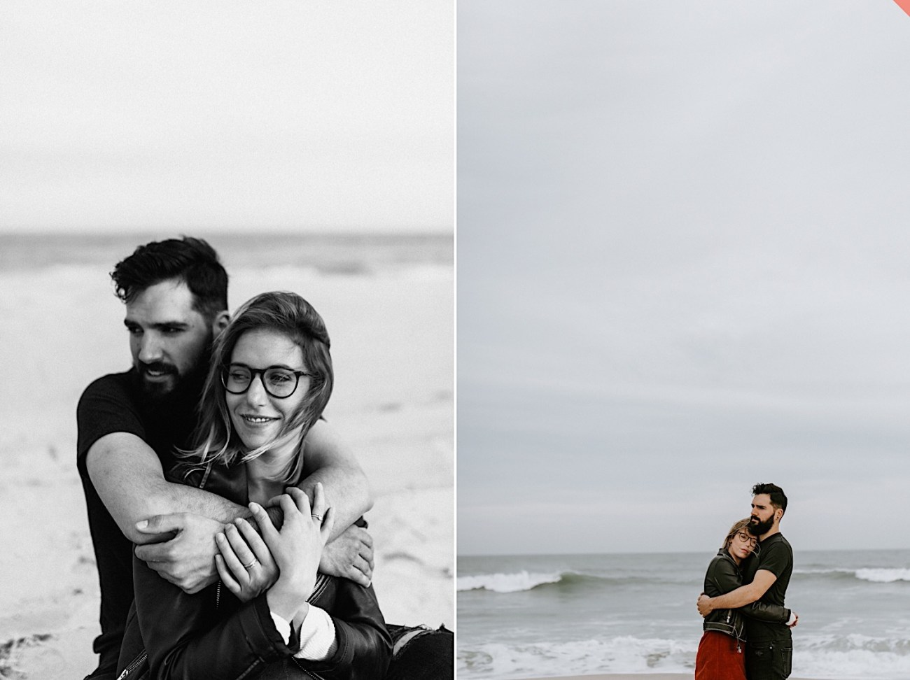 Long Beach New Jersey Engagement NJ Wedding Photographer Beach Engagement Photos 15