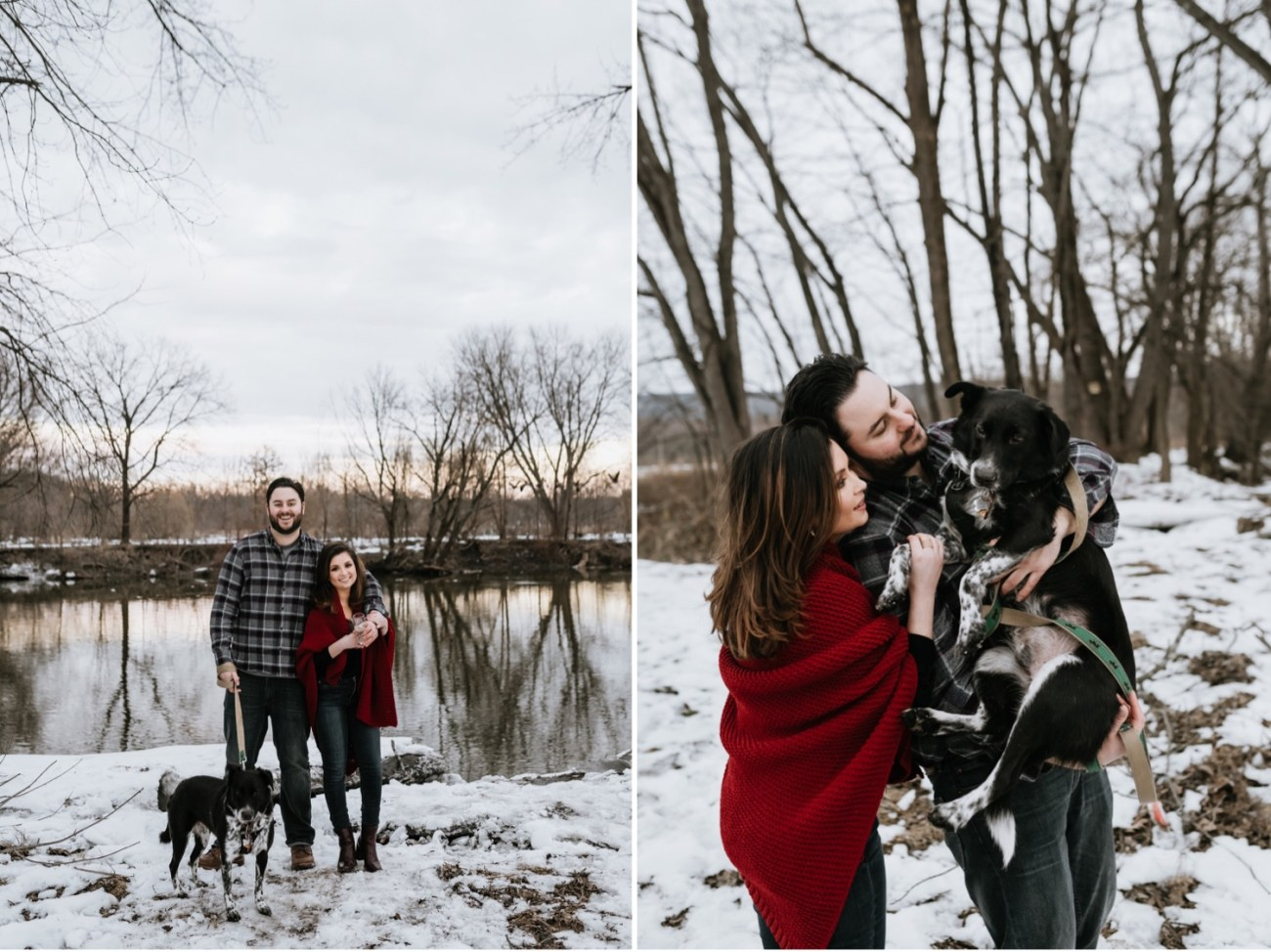 29 Minnewaska State Park Minnewaska Engagement Session Winter Engagement Adventurous Engagement