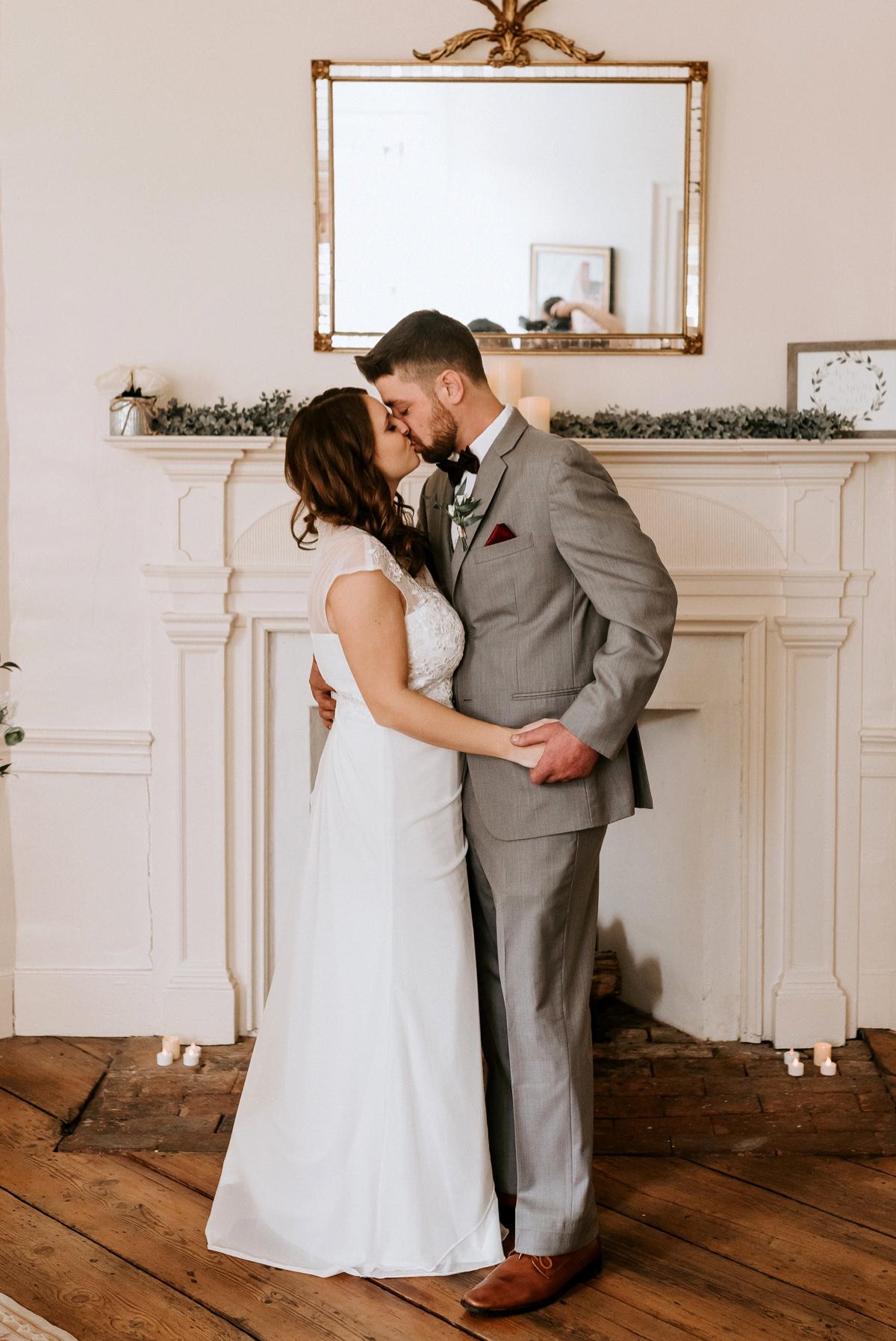 29 The Inn At Glencairn Destination Wedding Photographer Winter Elopement New Jersey Wedding Photographer Intimate Wedding