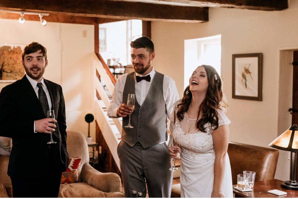 31 The Inn At Glencairn Destination Wedding Photographer Winter Elopement New Jersey Wedding Photographer Intimate Wedding