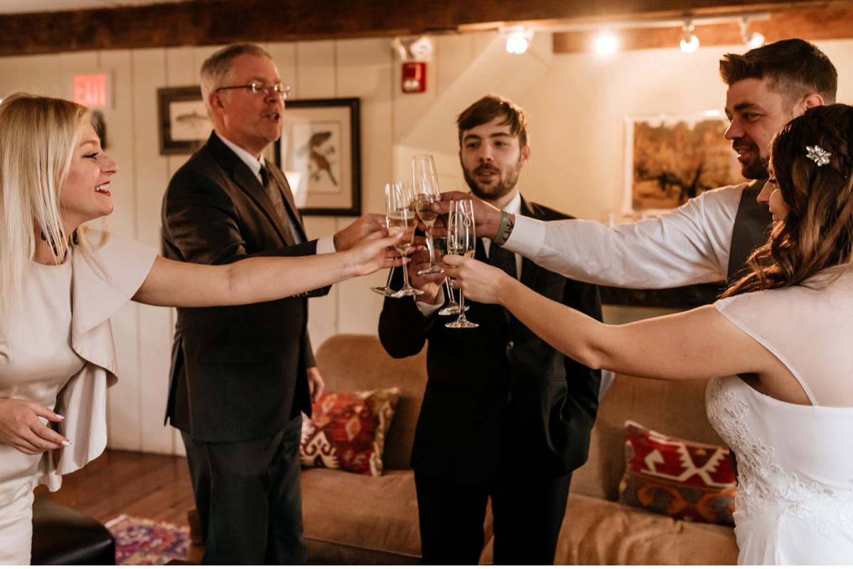 32 The Inn At Glencairn Destination Wedding Photographer Winter Elopement New Jersey Wedding Photographer Intimate Wedding