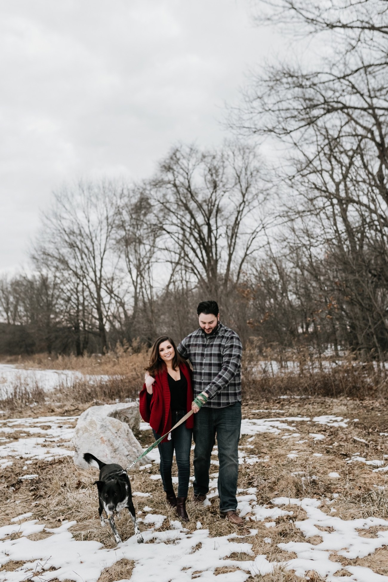 33 Minnewaska State Park Minnewaska Engagement Session Winter Engagement Adventurous Engagement