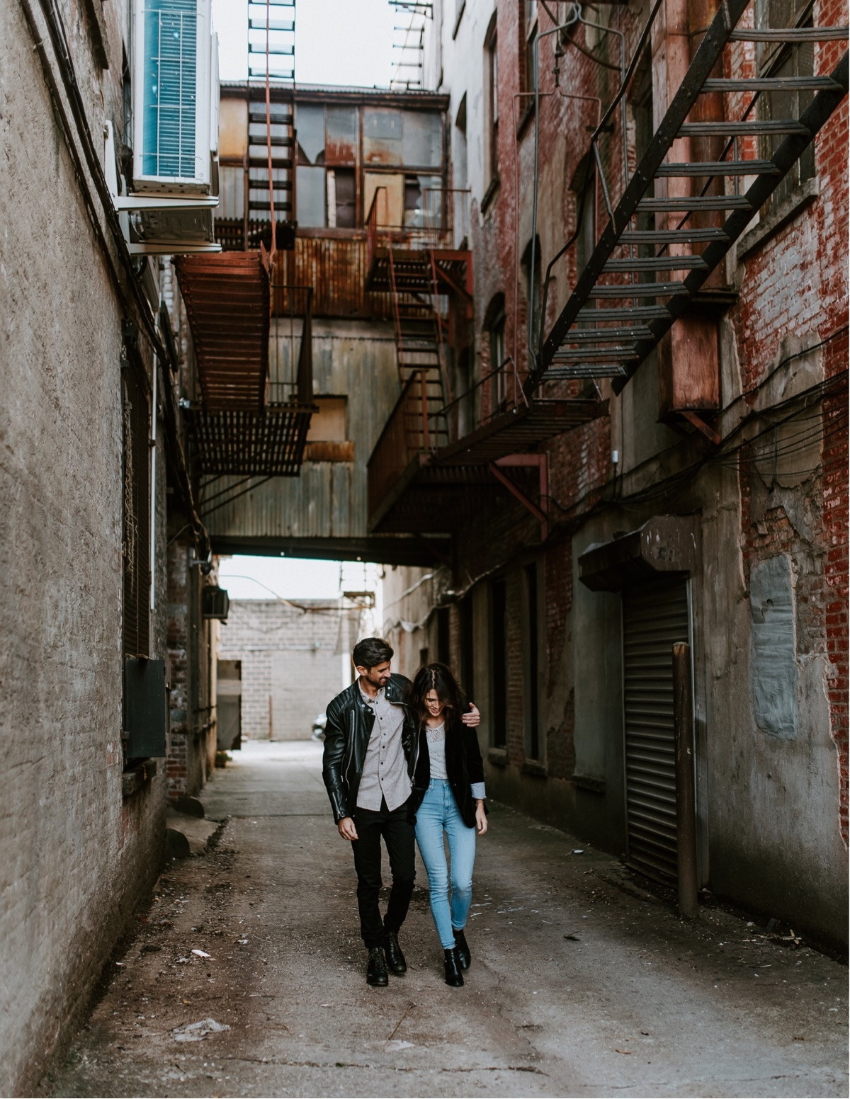 Industrial Brooklyn Engagement Destination Wedding Photographer 01