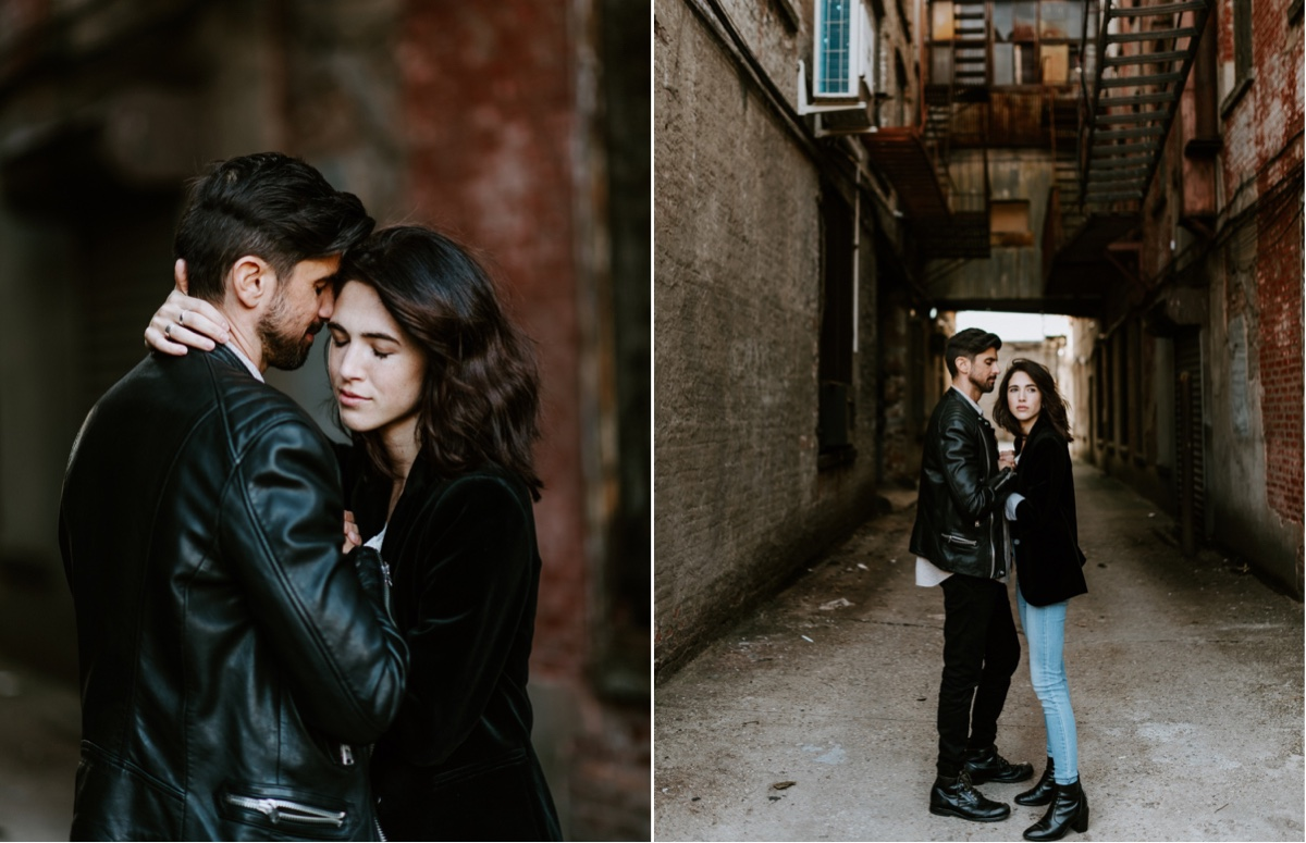 Industrial Brooklyn Engagement Destination Wedding Photographer 12