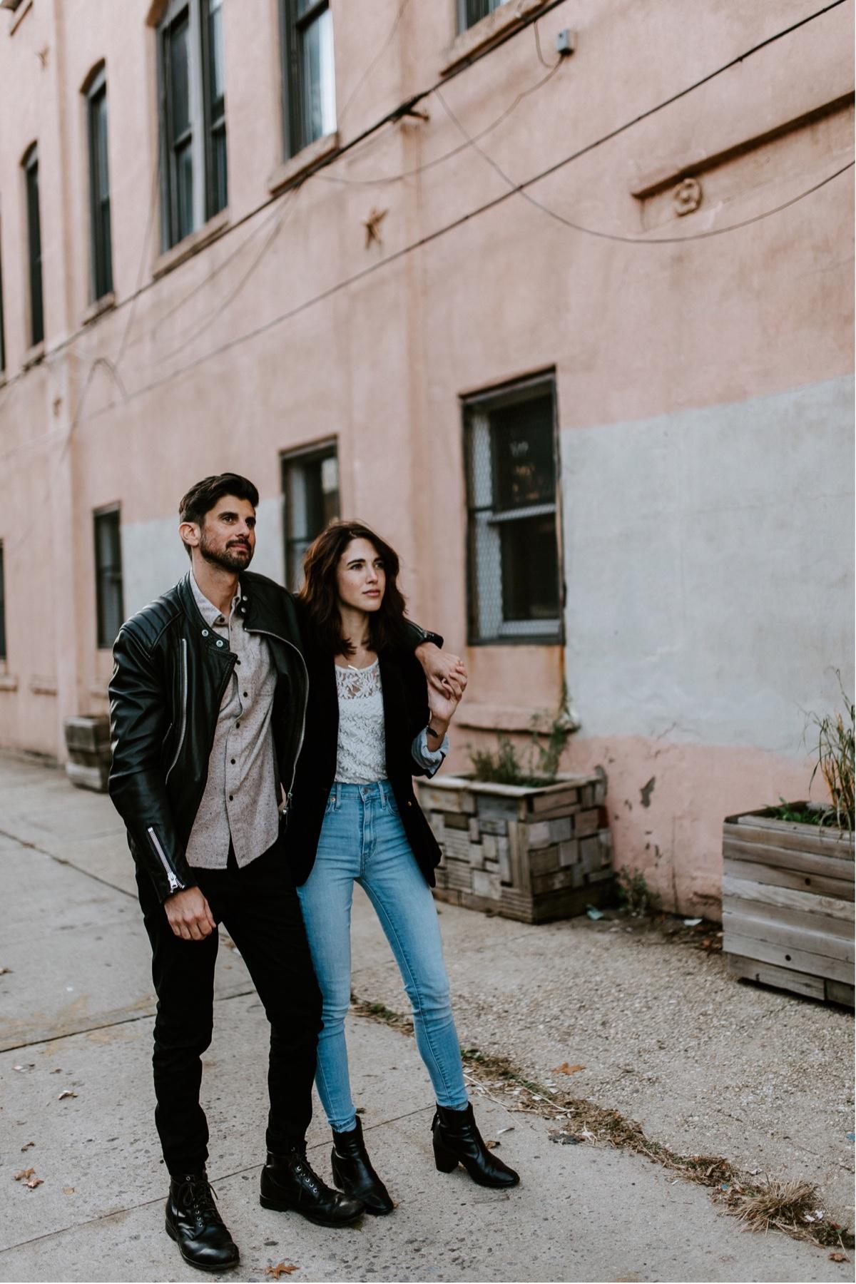 Industrial Brooklyn Engagement Destination Wedding Photographer 24