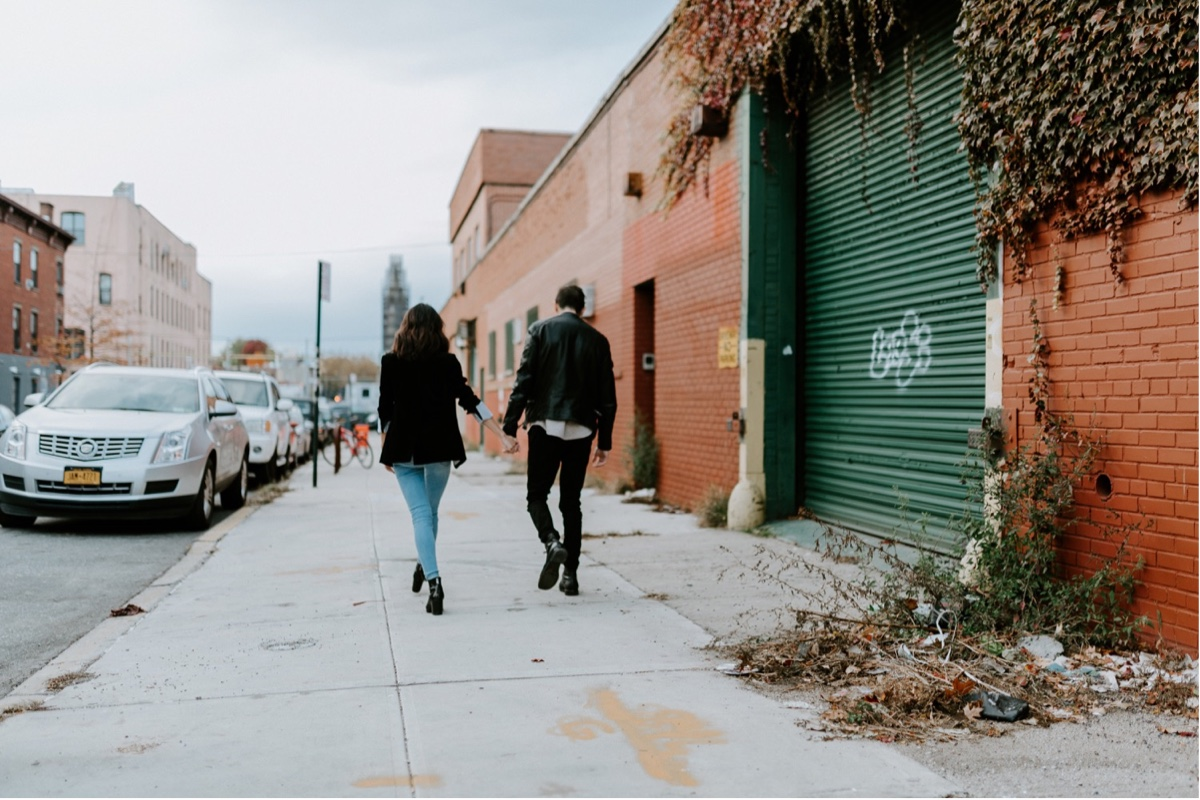 Industrial Brooklyn Engagement Destination Wedding Photographer 37