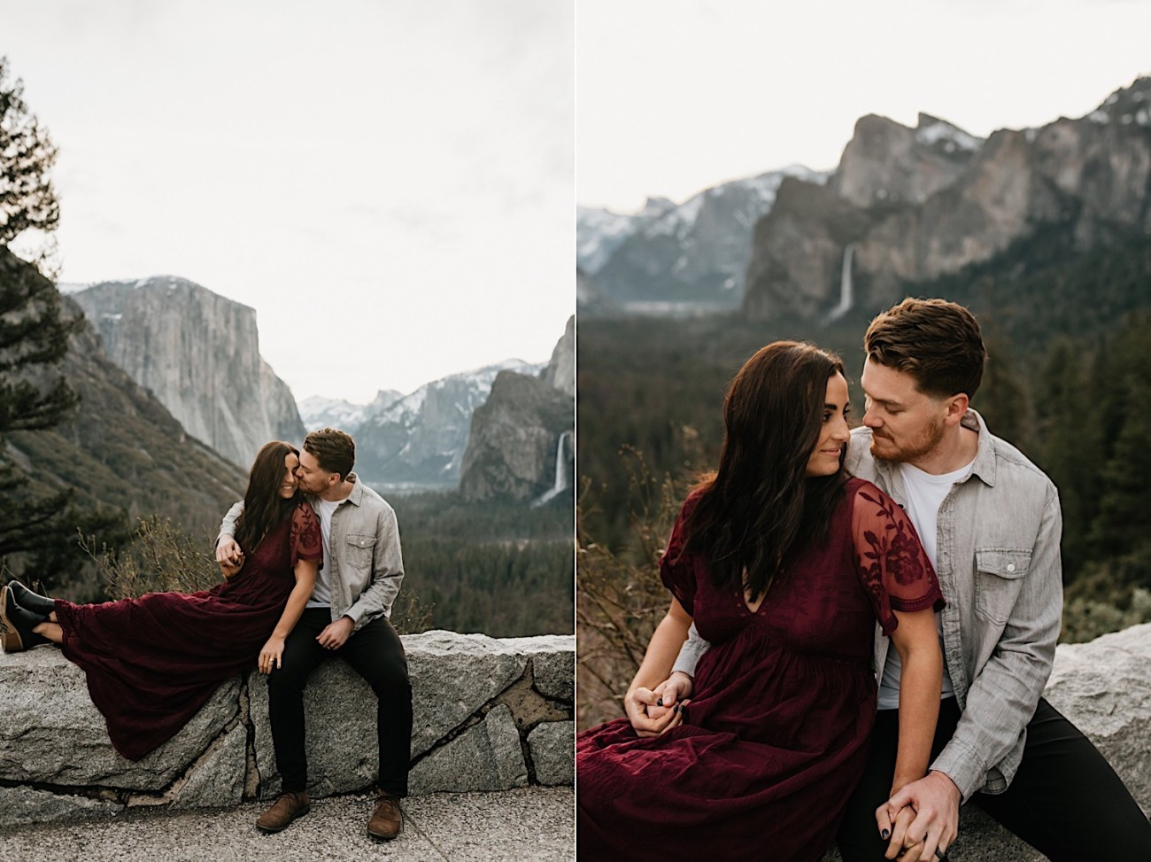 Yosemite National Park Enagement Session California Wedding Photographer 02