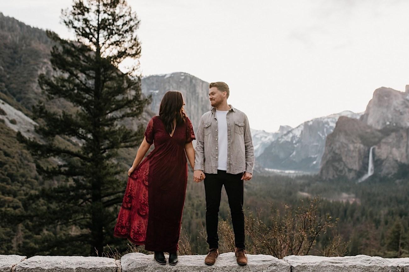 Yosemite National Park Enagement Session California Wedding Photographer 05