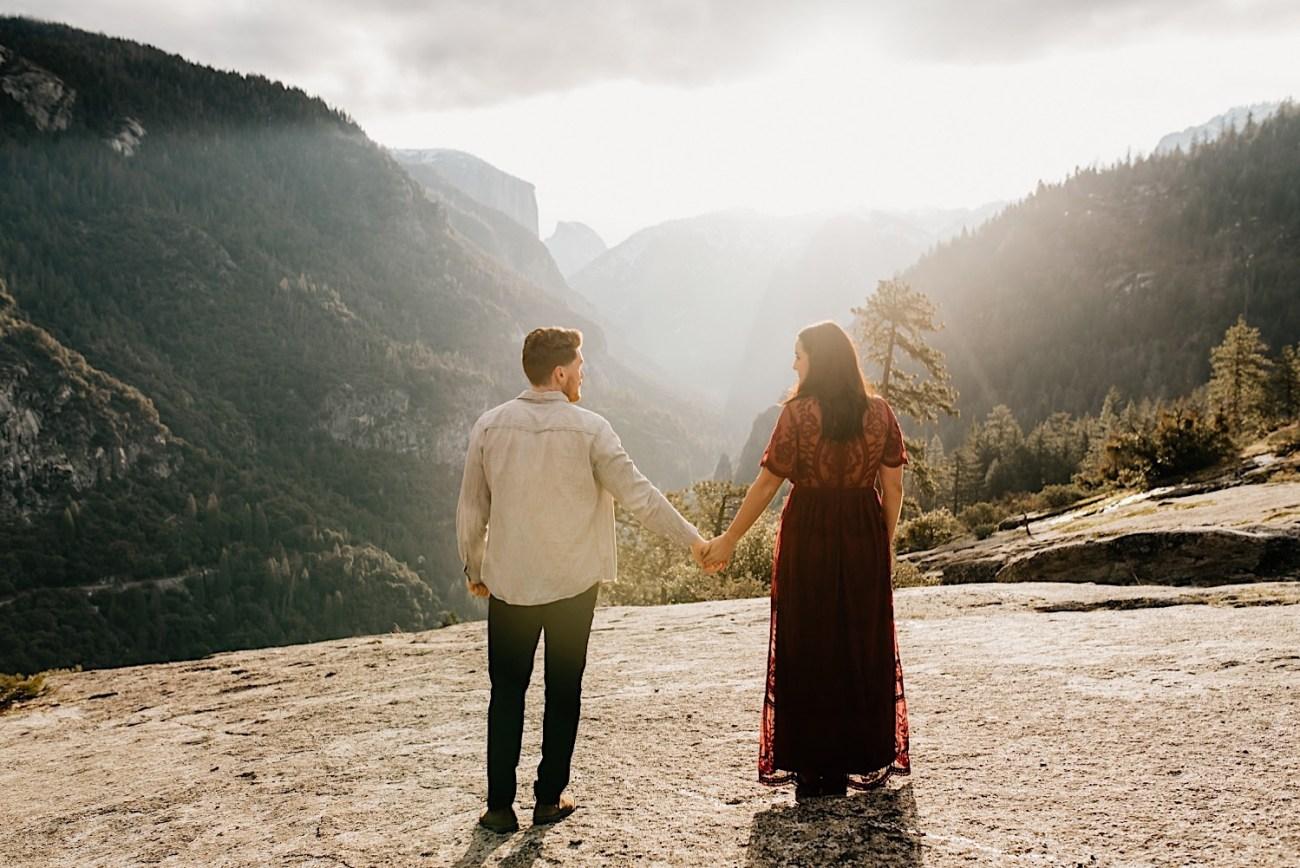 Yosemite National Park Enagement Session California Wedding Photographer 24