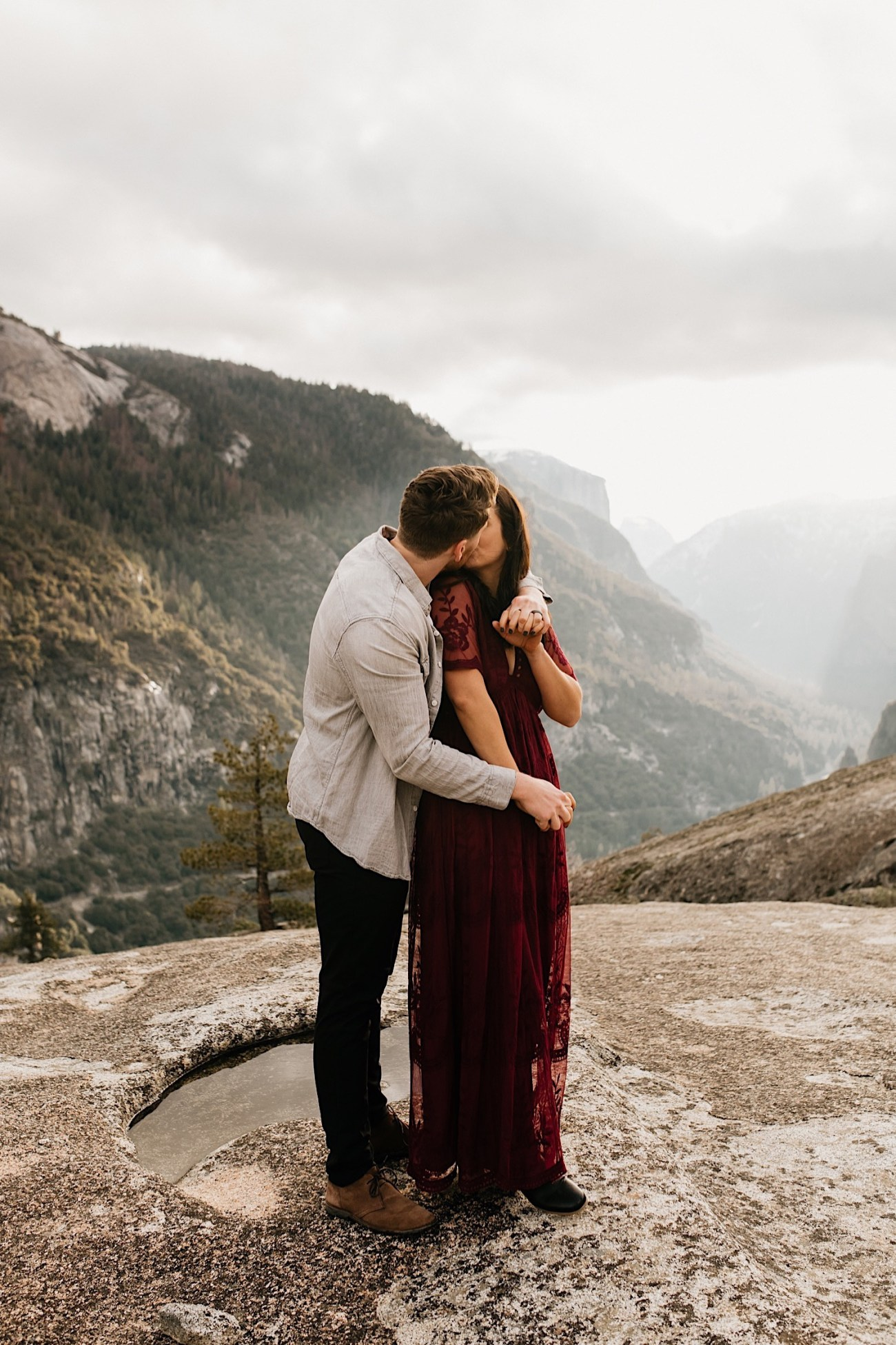 Yosemite National Park Enagement Session California Wedding Photographer 25