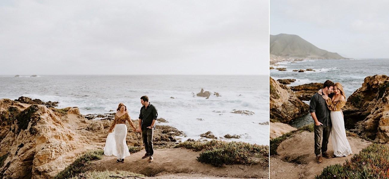 Big Sur California Couple Session San Francisco Wedding Photographer 09