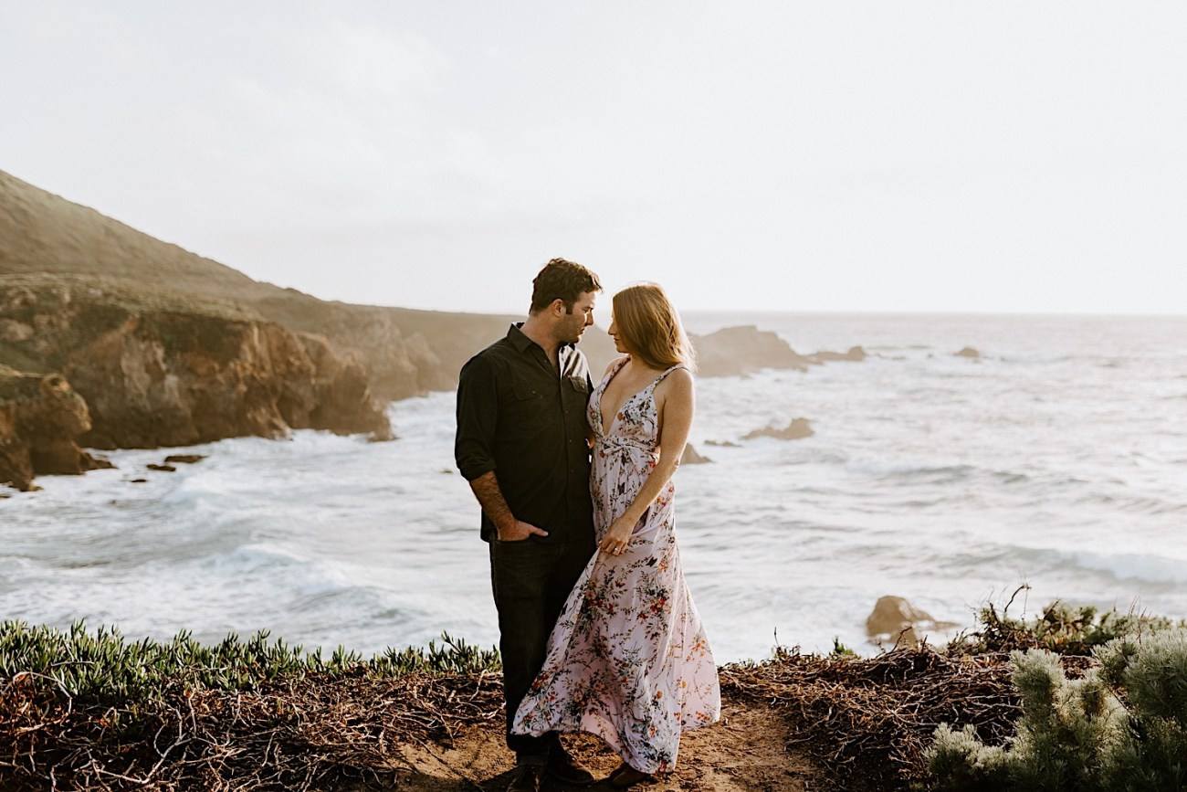 Big Sur California Couple Session San Francisco Wedding Photographer 19