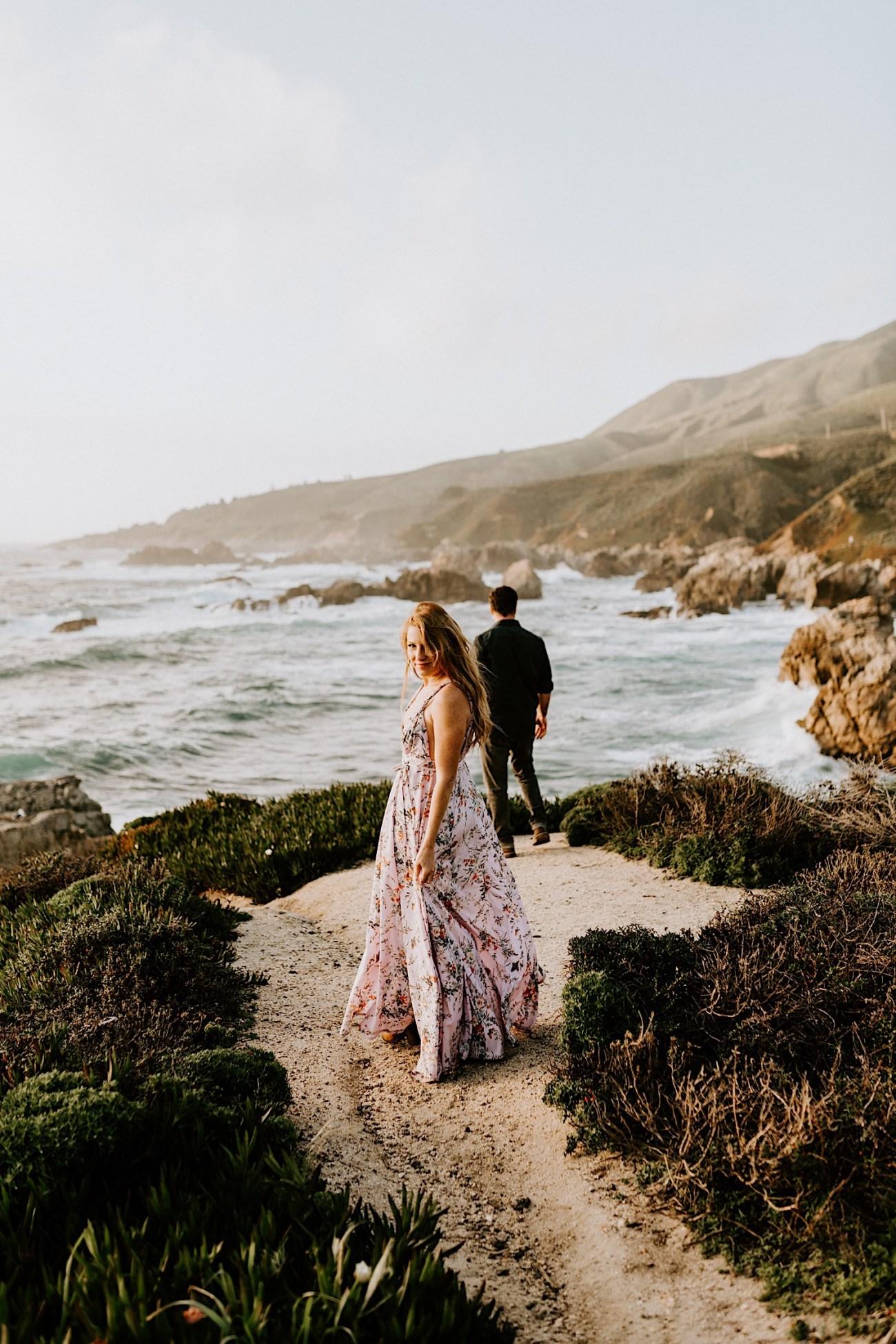 Big Sur California Couple Session San Francisco Wedding Photographer 21