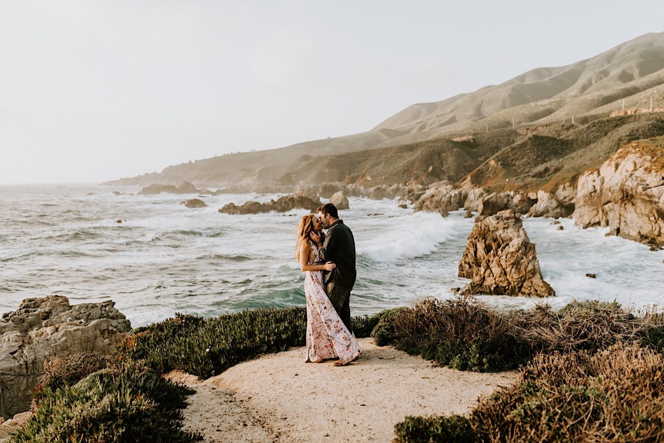 Big Sur California Couple Session San Francisco Wedding Photographer 24