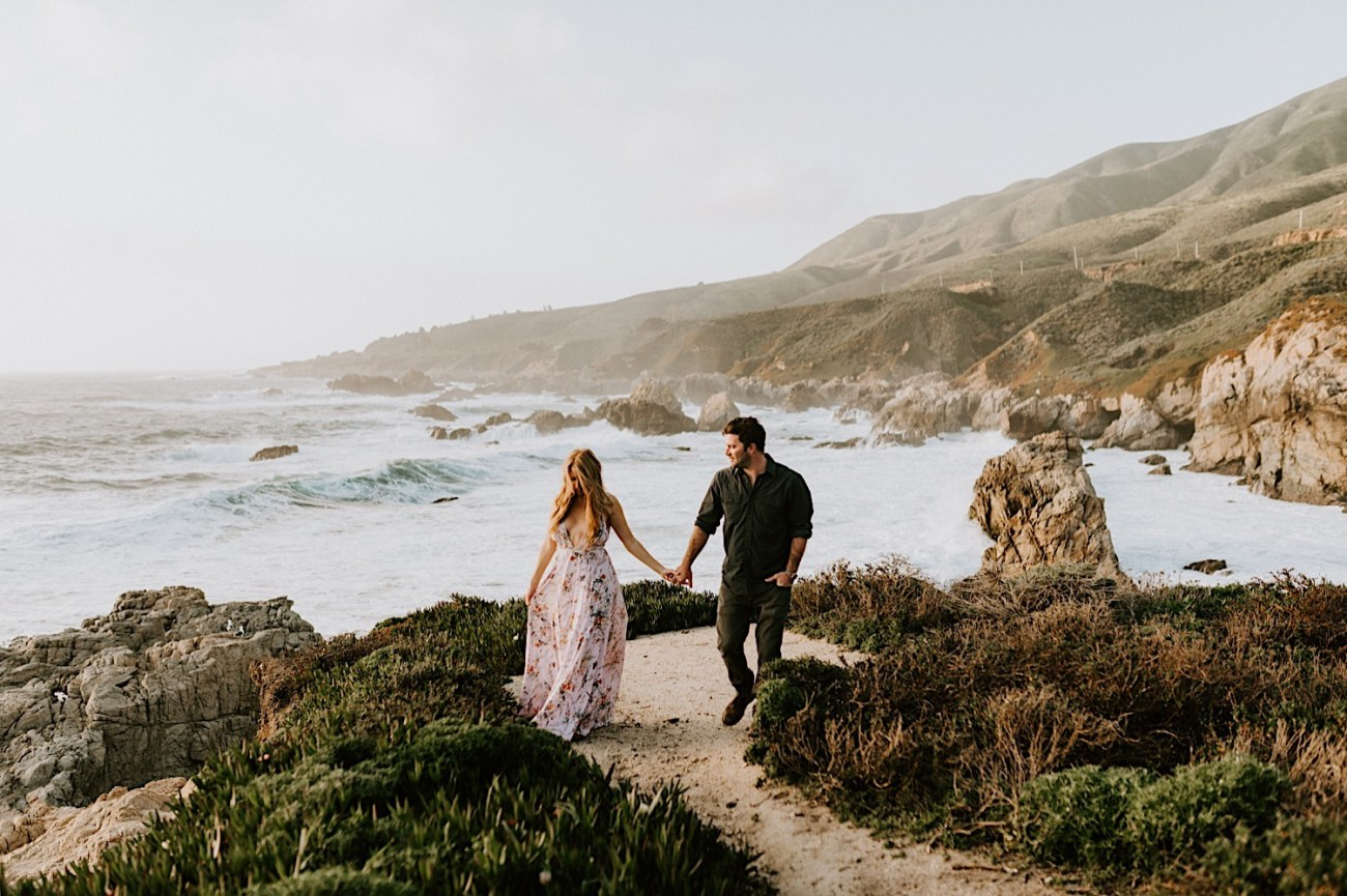 Big Sur California Couple Session San Francisco Wedding Photographer 30