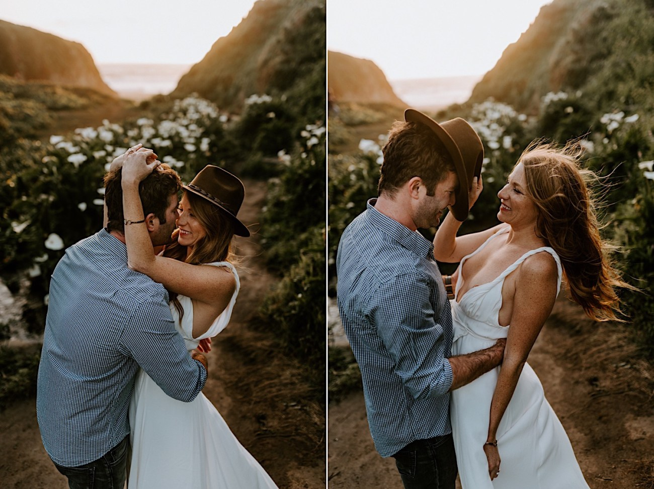 Monterey Wedding Photographer California Coast Enagement Session 07