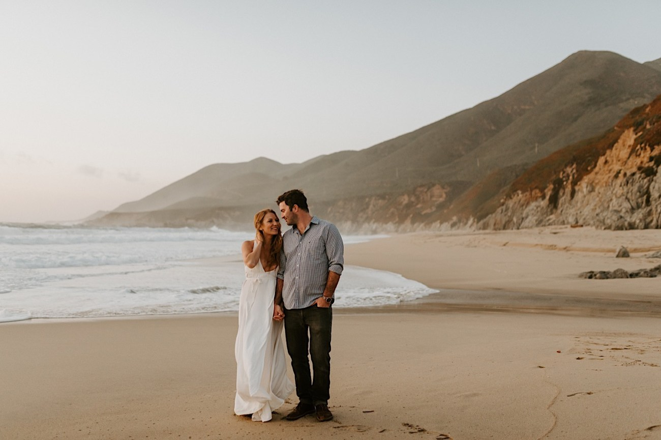 Monterey Wedding Photographer California Coast Enagement Session 25