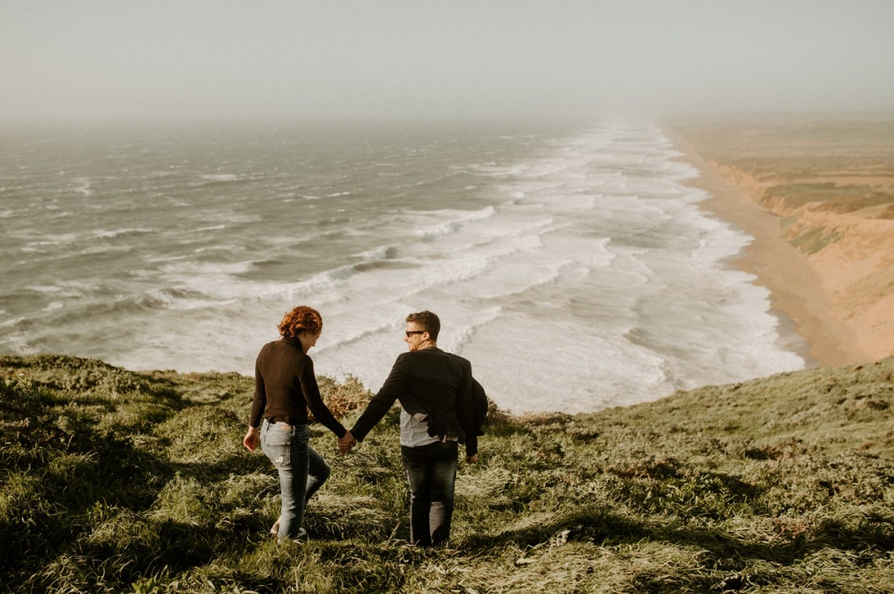 Point Reyes California Engagement Session San Francisco Wedding Photographer Anais Possamai Photography 029