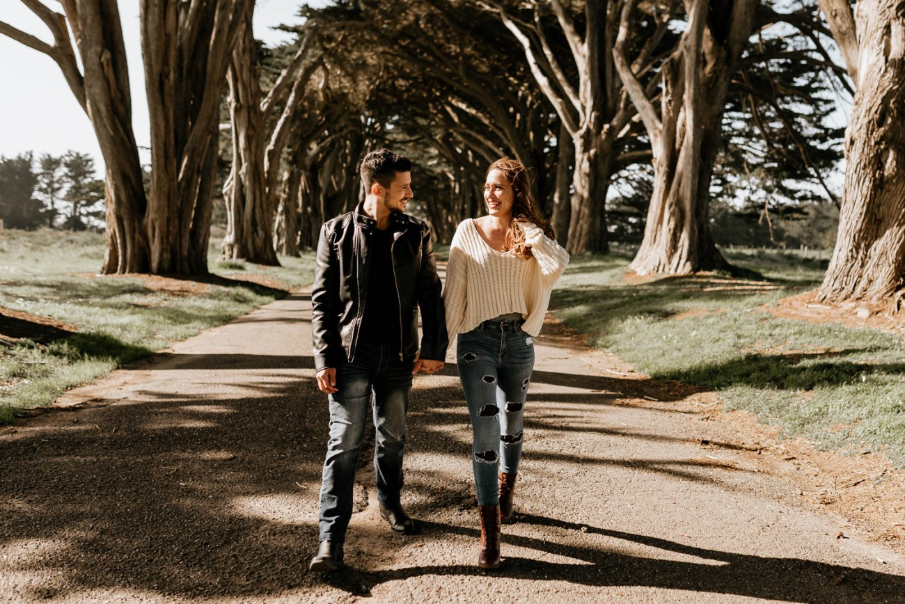 Point Reyes Engagement Session 7