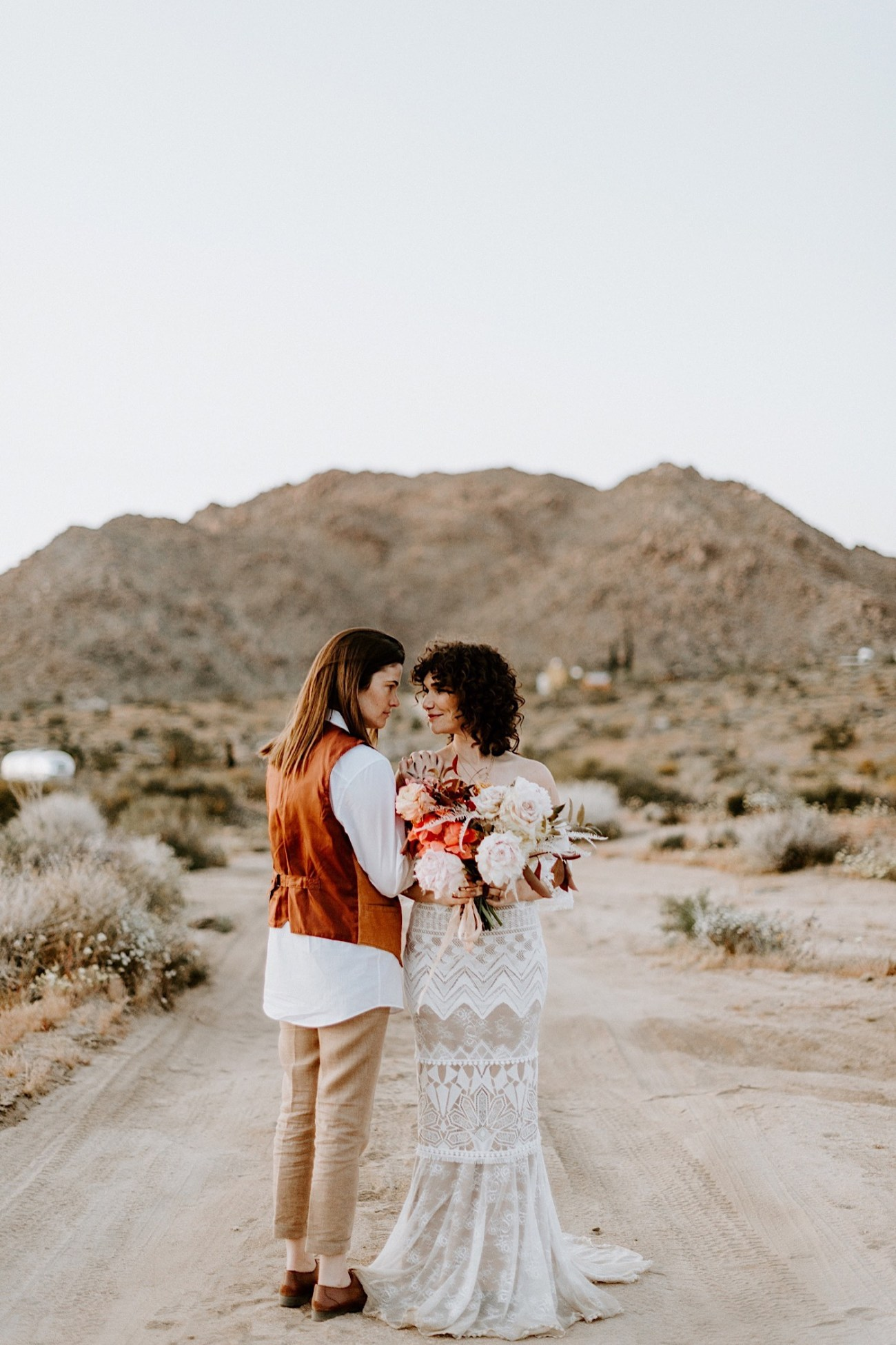 Joshua Tree Same Sex Wedding Joshua Tree Wedding Photographer Palm Springs Wedding Photographer 55