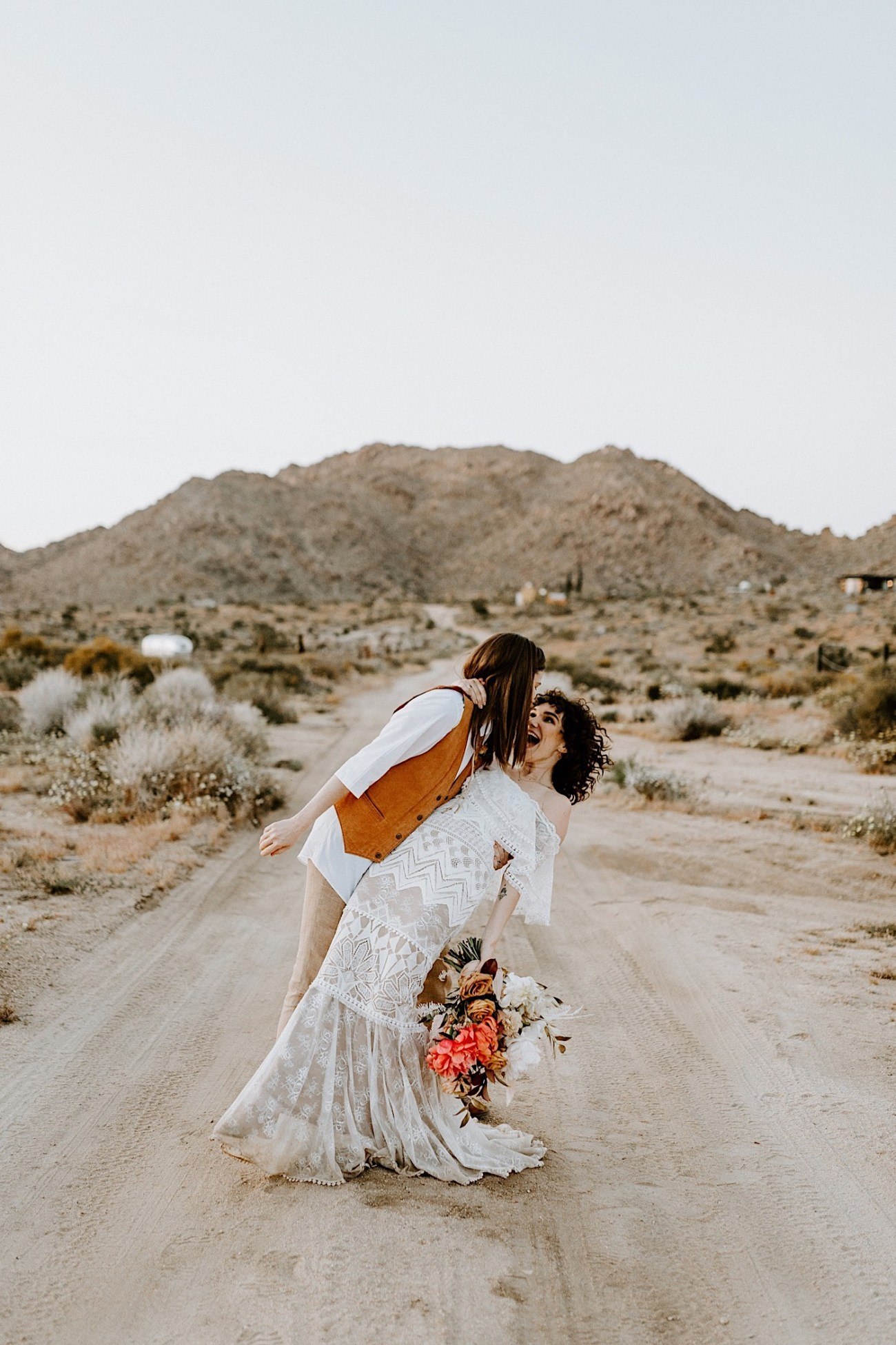 Joshua Tree Same Sex Wedding Joshua Tree Wedding Photographer Palm Springs Wedding Photographer 56
