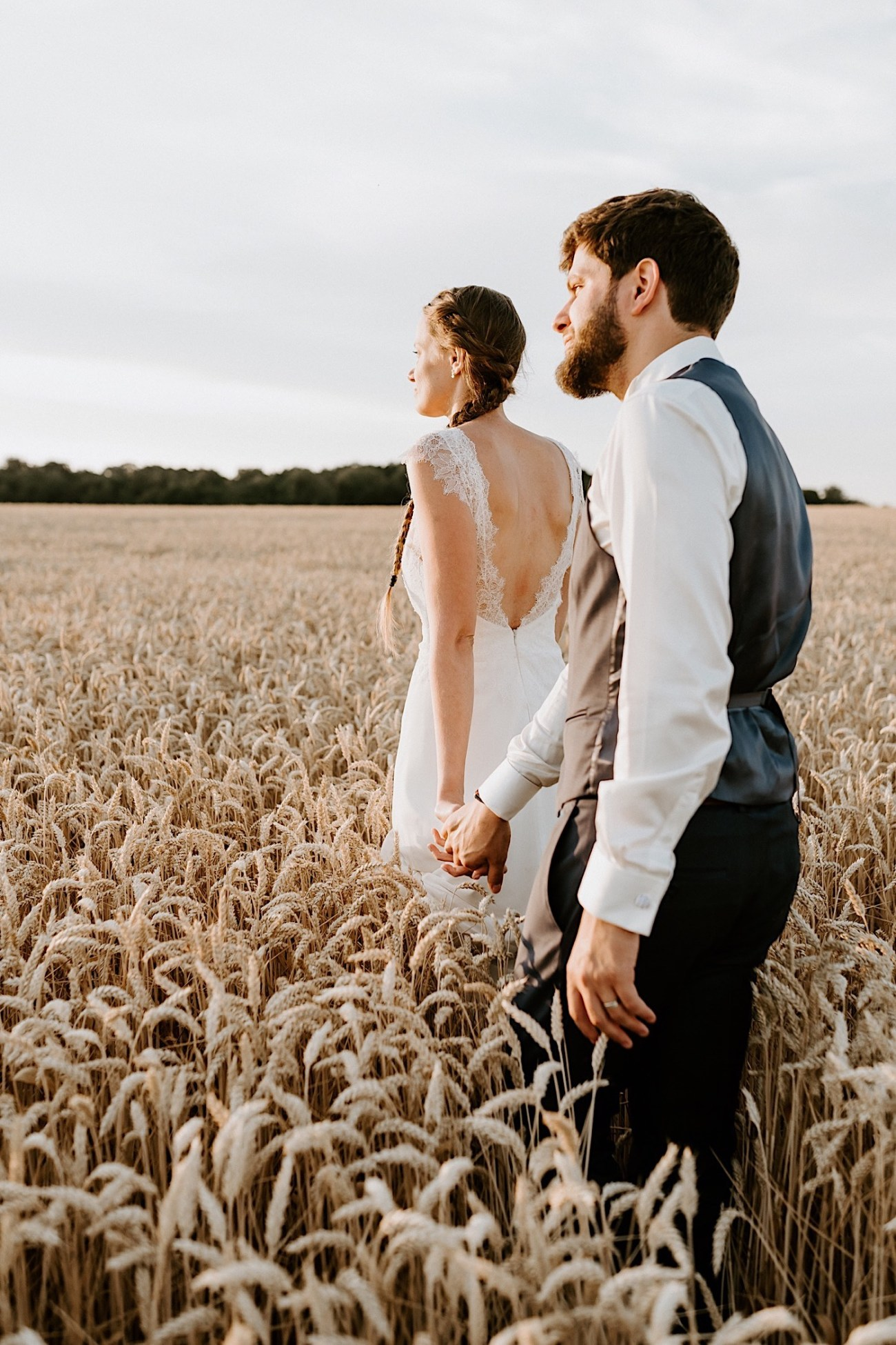 France Wedding Wheat Field Wedding Photos Paris Wedding Photographer 027