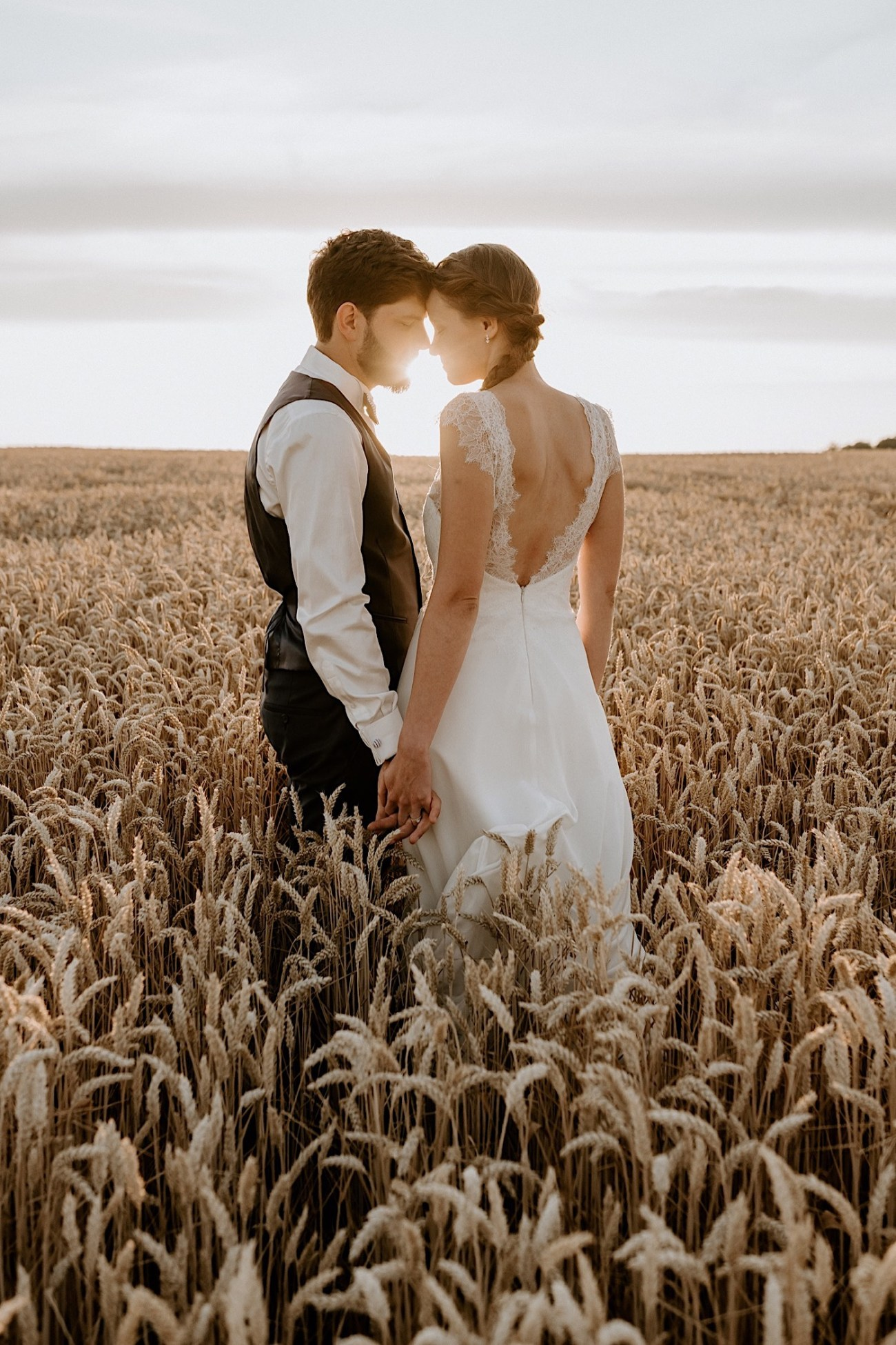 France Wedding Wheat Field Wedding Photos Paris Wedding Photographer 031