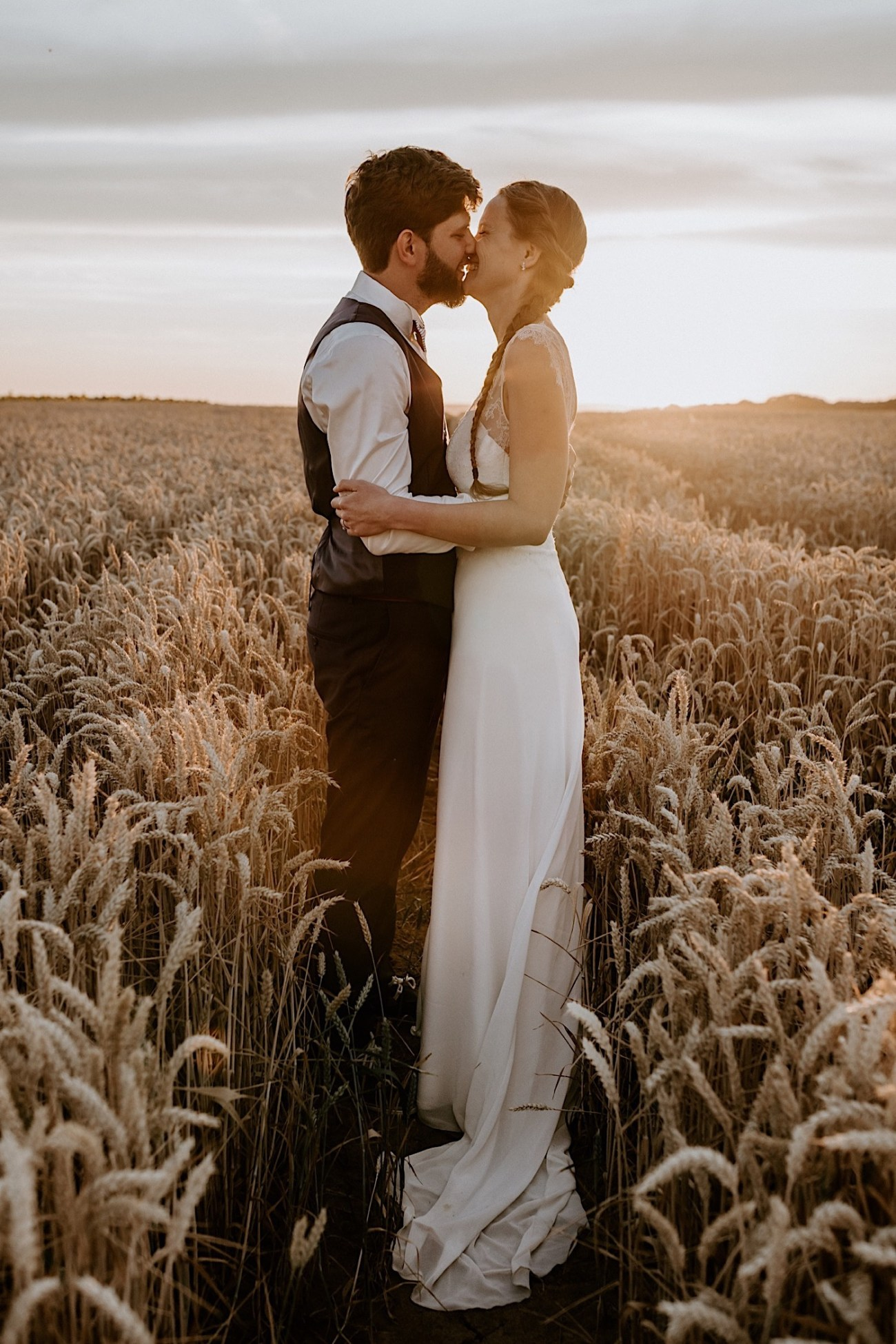 France Wedding Wheat Field Wedding Photos Paris Wedding Photographer 039