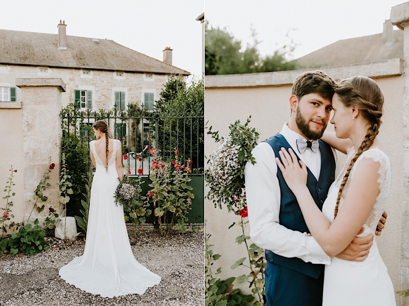 French Rural Wedding After Wedding Day Photos Paris Wedding Photographer 015