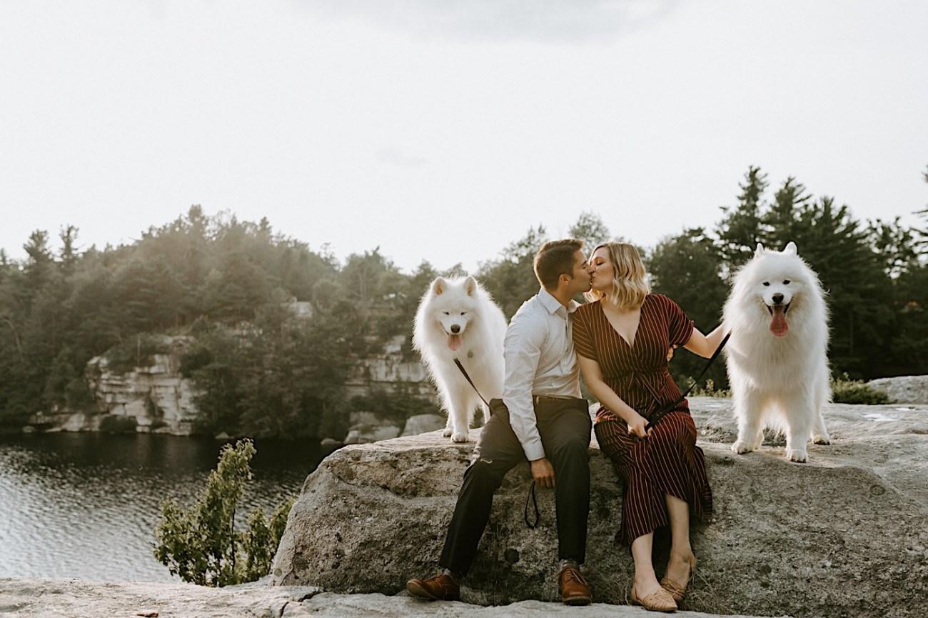 Minnewaska Engagement Session New York Wedding Photographer Hudson Valley Wedding Catskill Weddingphotographer 11