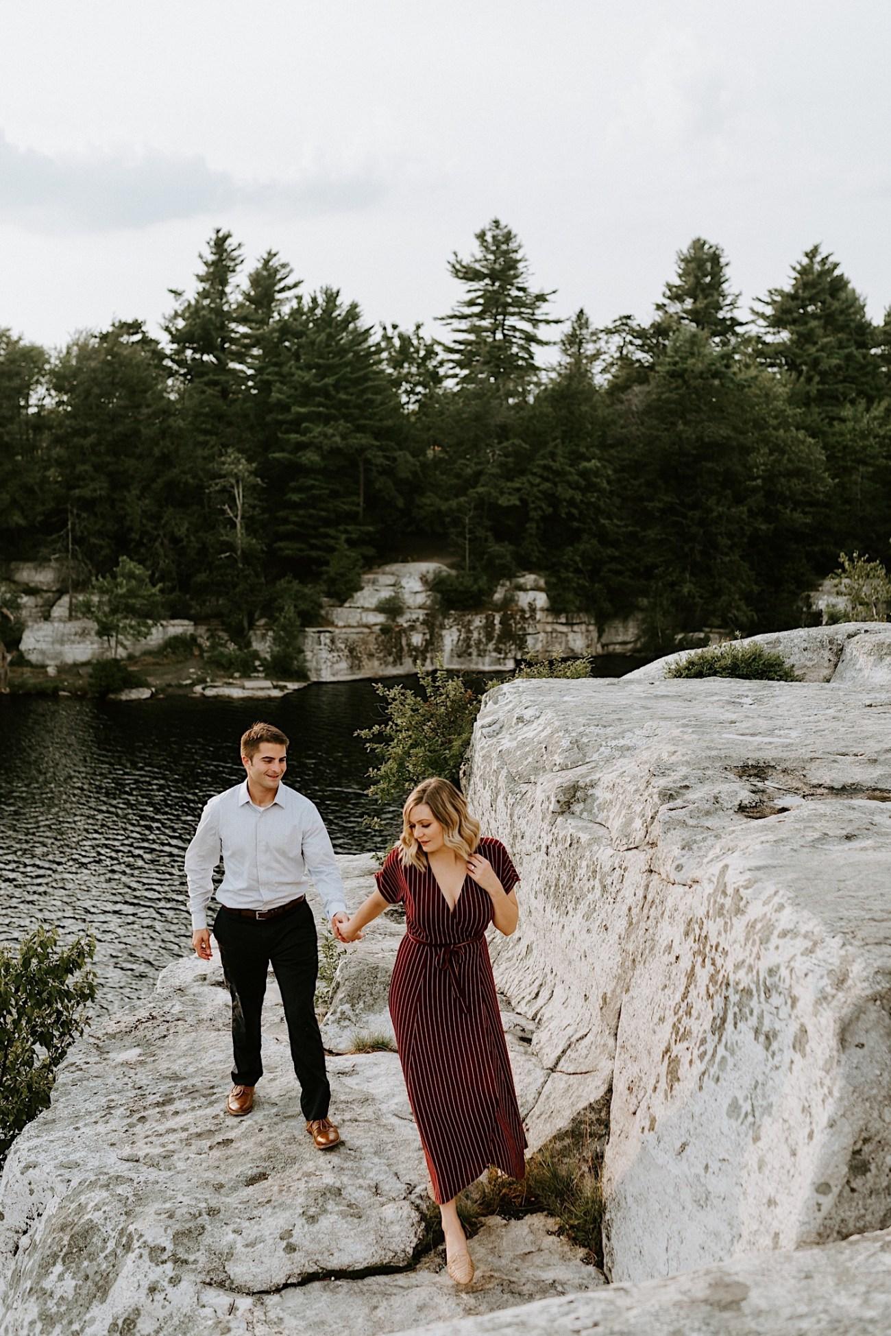 Minnewaska Engagement Session New York Wedding Photographer Hudson Valley Wedding Catskill Weddingphotographer 21