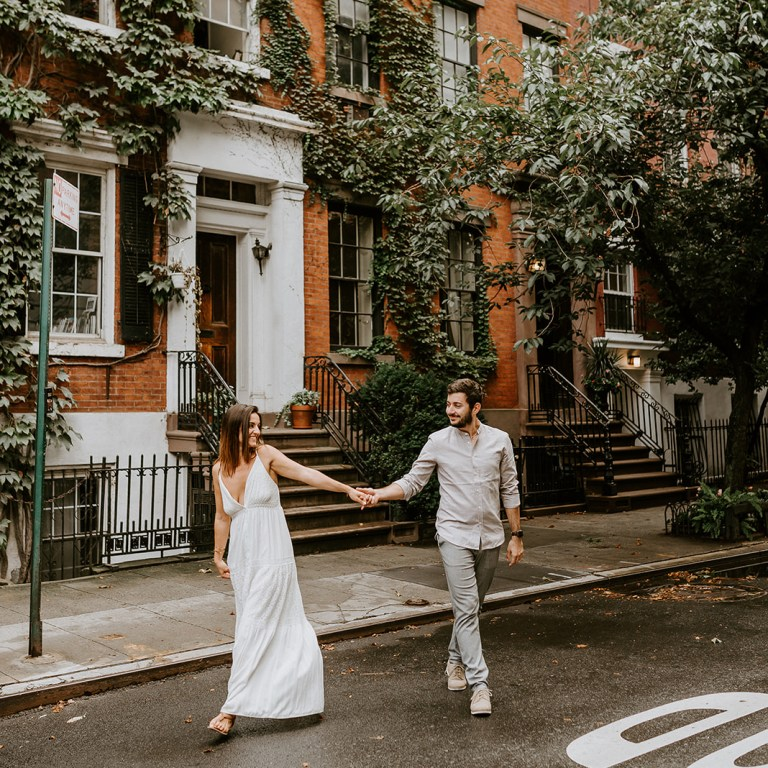 Greenwich Village Couple Session