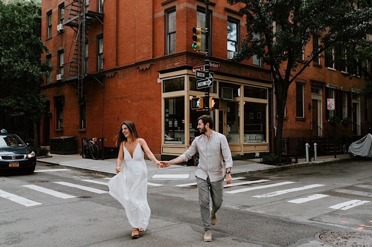 Greenwich Village Couple Session Manhattan Engagement Session New York Wedding Photographer 01