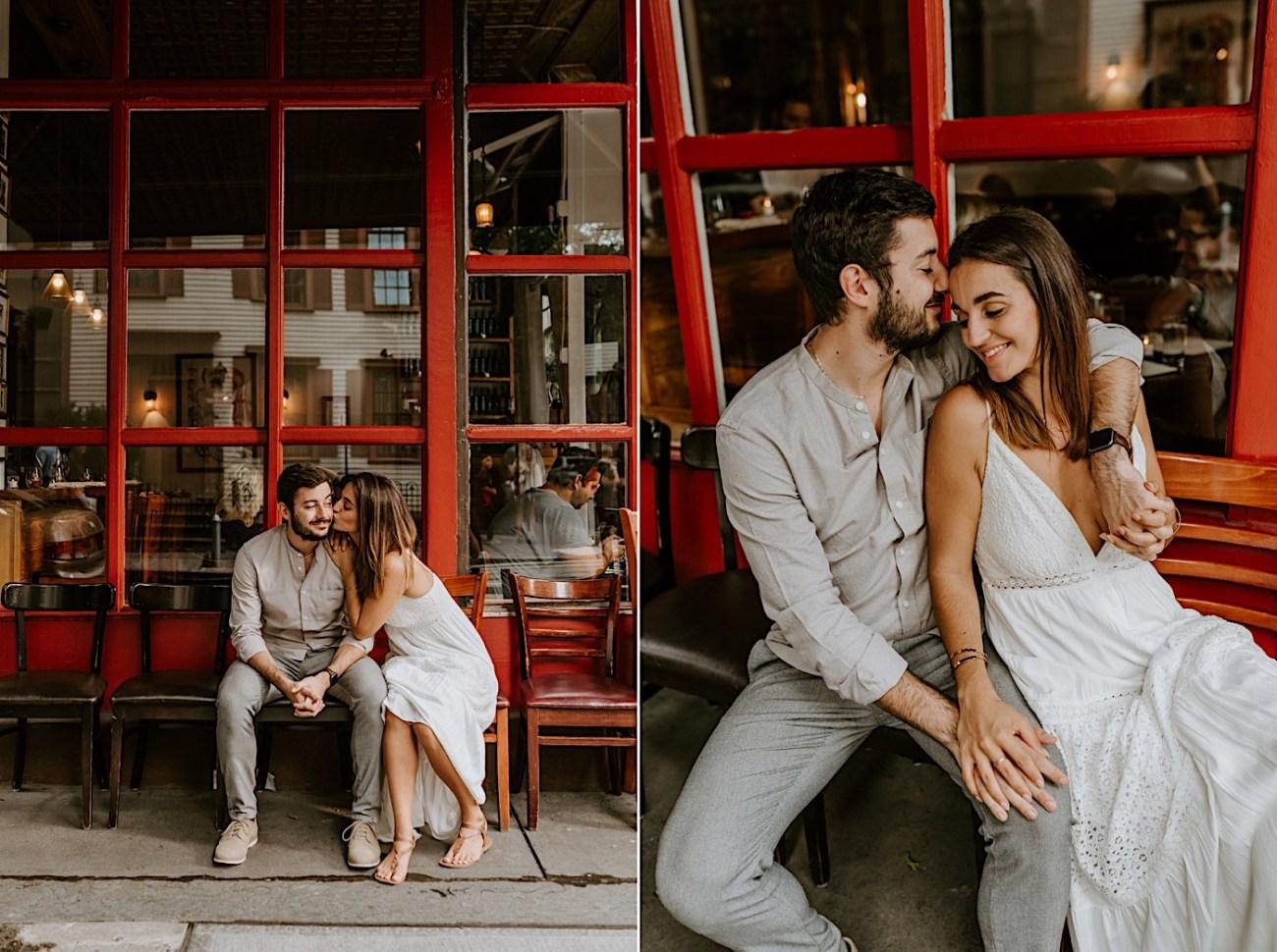 Greenwich Village Engagement Photos Manhattan Engagement Session New York Wedding Photographer 13