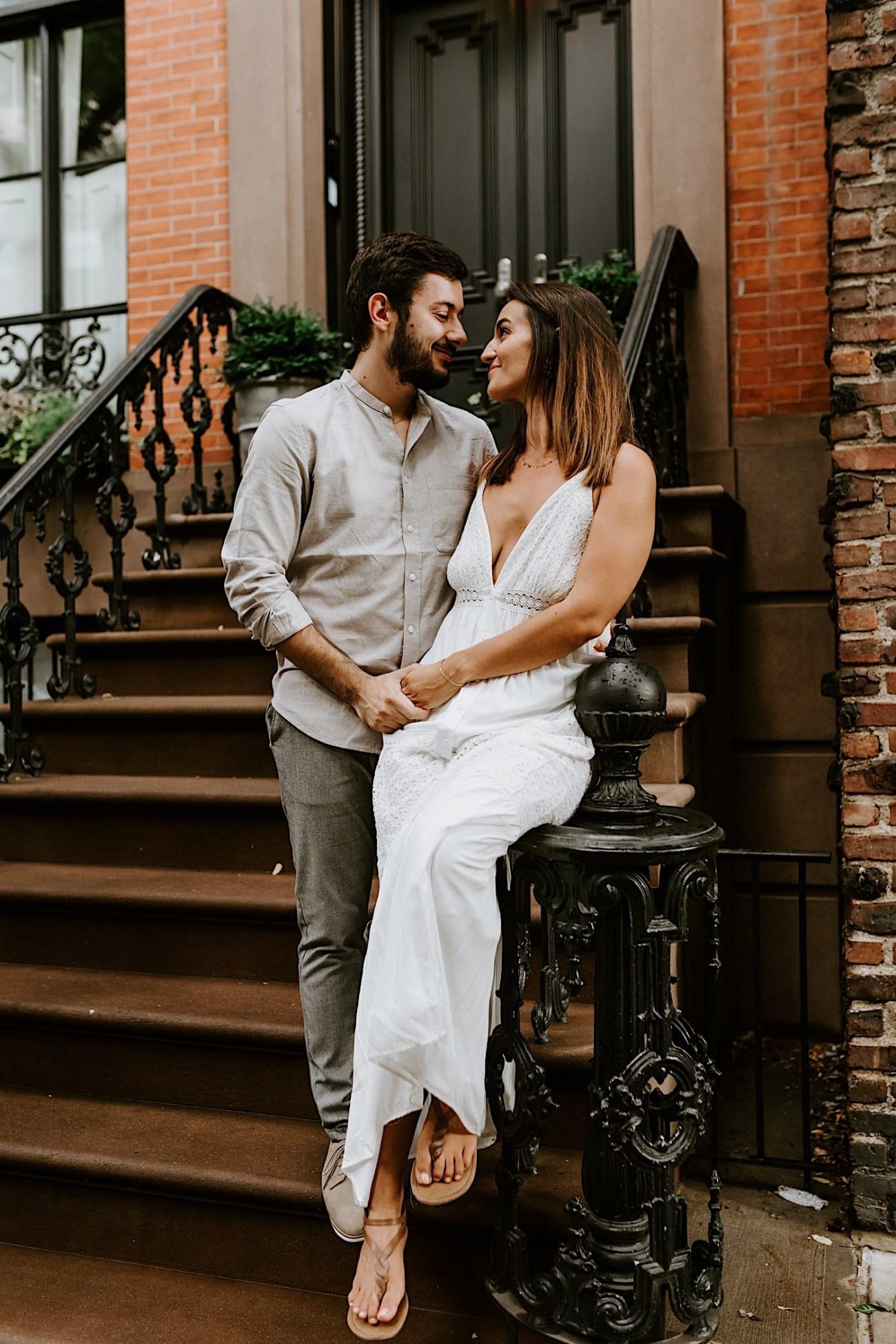 Greenwich Village Engagement Photos Manhattan Engagement Session New York Wedding Photographer 15