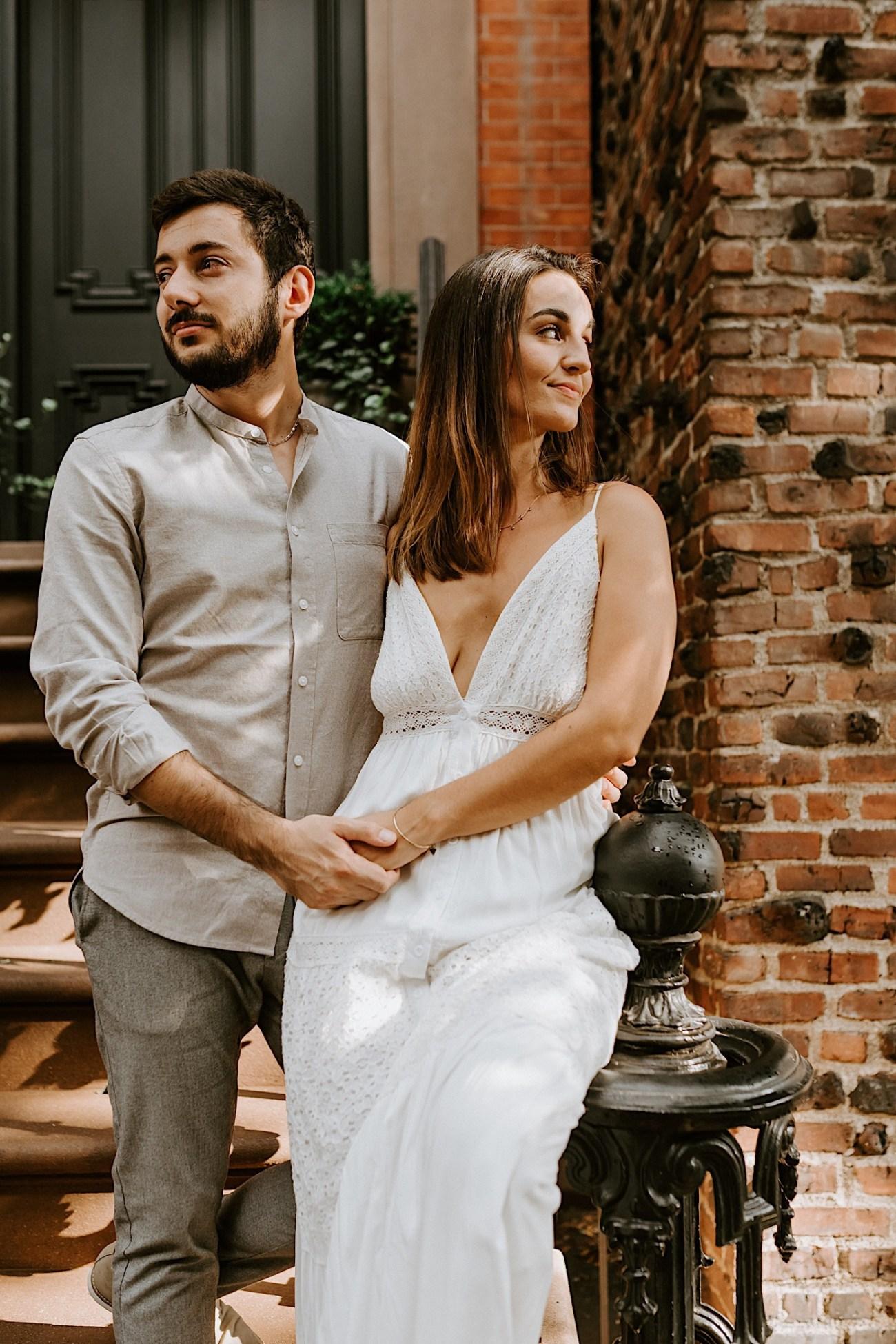 Greenwich Village Engagement Photos Manhattan Engagement Session New York Wedding Photographer 17