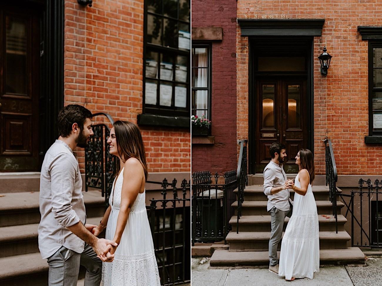 Greenwich Village Engagement Photos Manhattan Engagement Session New York Wedding Photographer 22