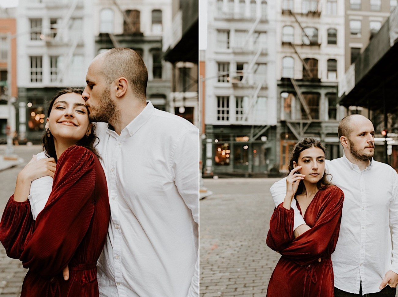 NYC Soho Couple Session Engagement Session NYC Wedding Photographer Manhattan Engaegement Locations 02