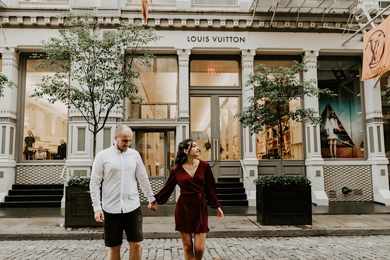 Soho Engagement Session NYC Wedding Photographer Manhattan Engaegement Locations 01