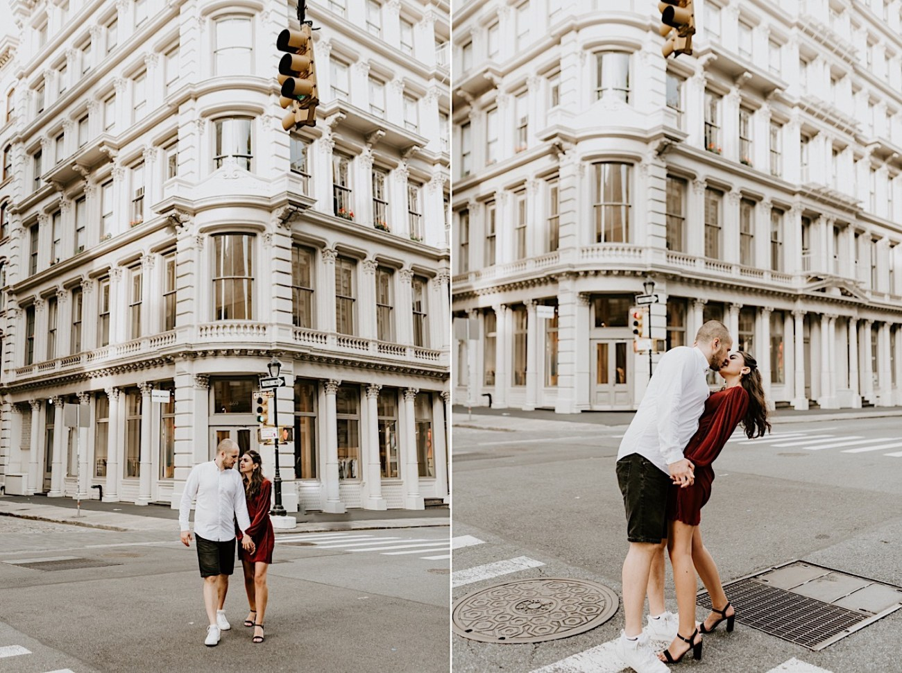 Soho Engagement Session NYC Wedding Photographer Manhattan Engaegement Locations 11