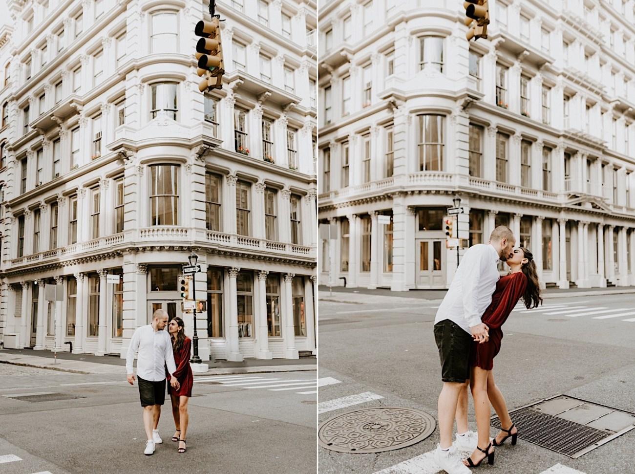 Soho Engagement Session NYC Wedding Photographer Manhattan Engaegement Locations 11