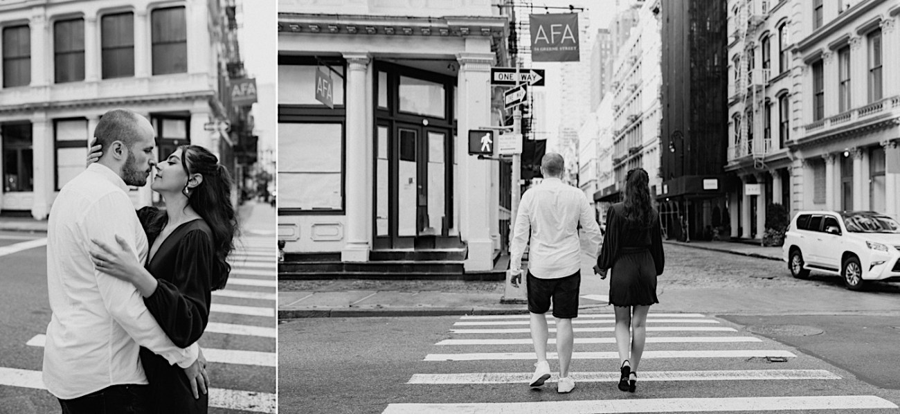 Soho Engagement Session NYC Wedding Photographer Manhattan Engaegement Locations 13
