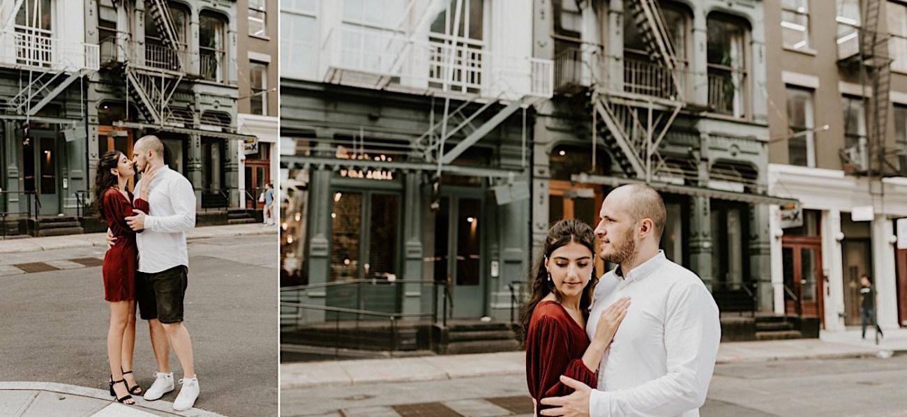 Soho Engagement Session NYC Wedding Photographer Manhattan Engaegement Locations 18