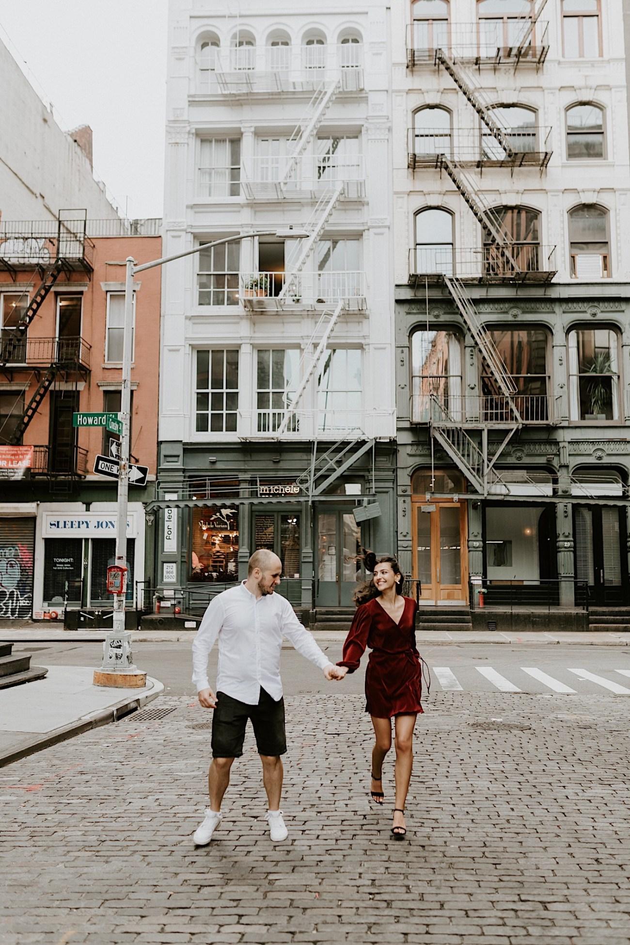 Soho Engagement Session NYC Wedding Photographer Manhattan Engaegement Locations 20