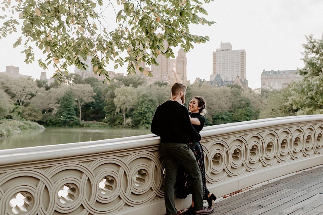 Bethesda Fountain Engagement Session NYC Engagement Photos New York Wedding Photographer 17