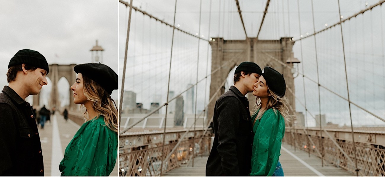 Brooklyn Bridge Engagement Session New York Wedding Photographer 07