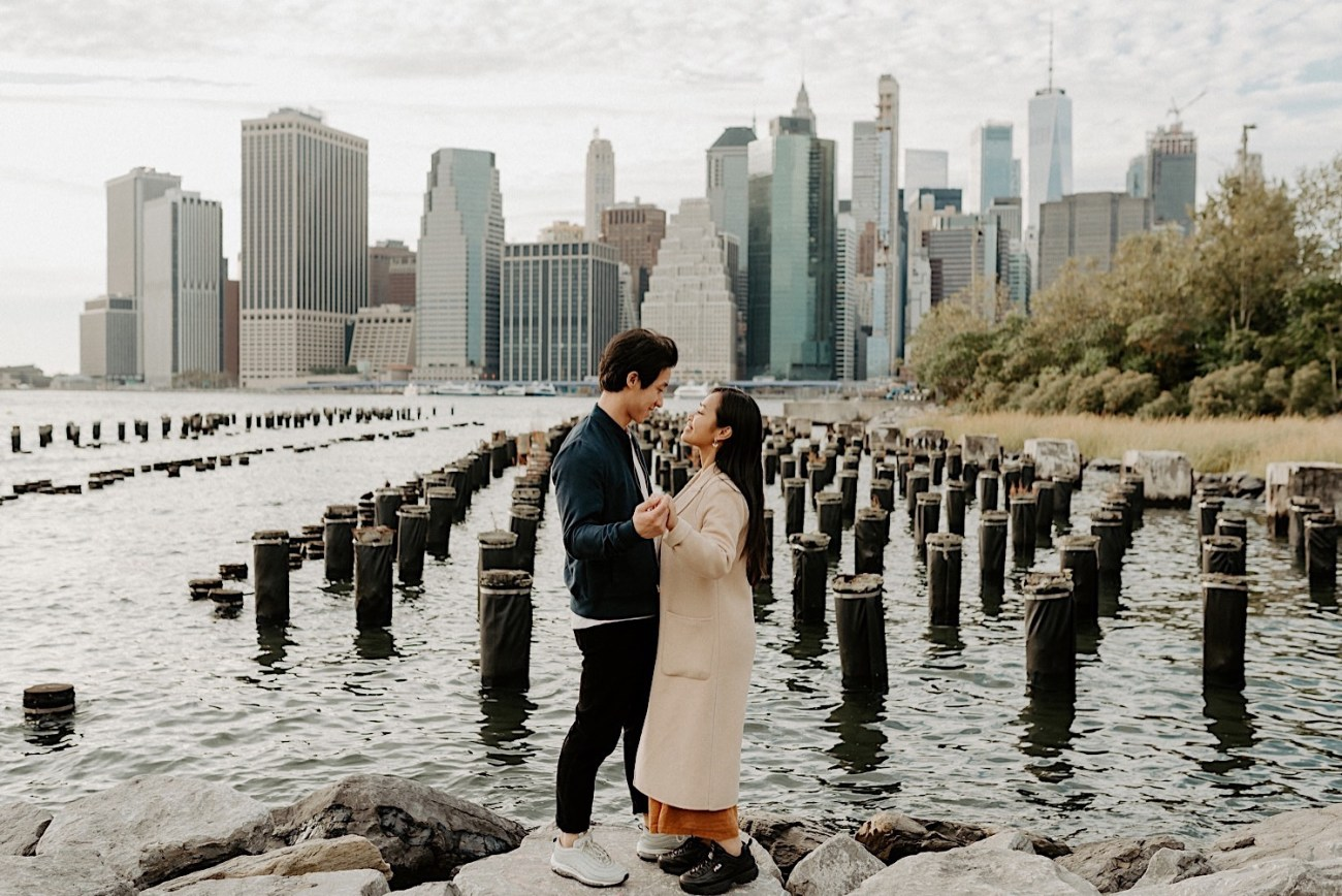 Brooklyn Heights Engagement Session Brooklyn Wedding Photographer 13
