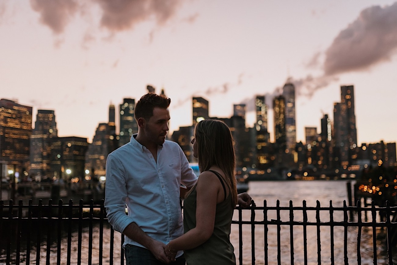 Brooklyn Heights Engagement Session Brooklyn Wedding Photographer 14