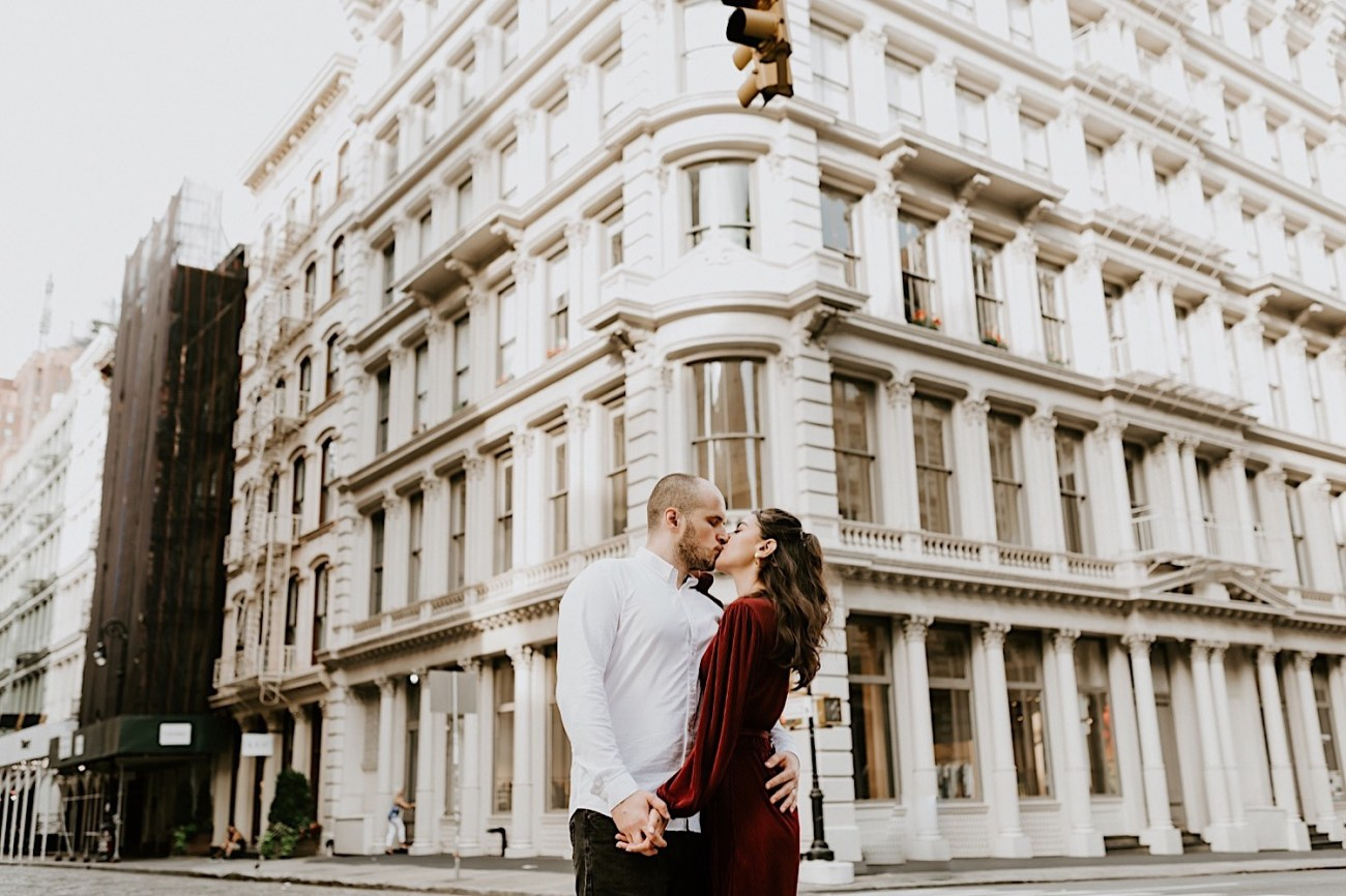 Soho Engagement Session New York Wedding Photographer 08