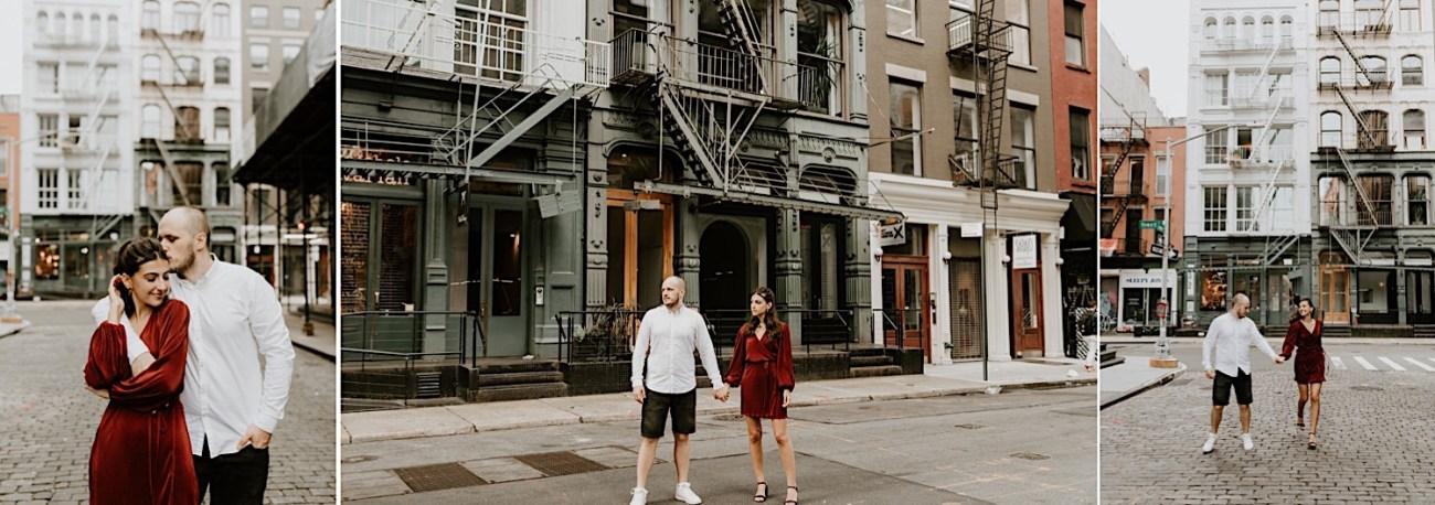 Soho Engagement Session New York Wedding Photographer 09